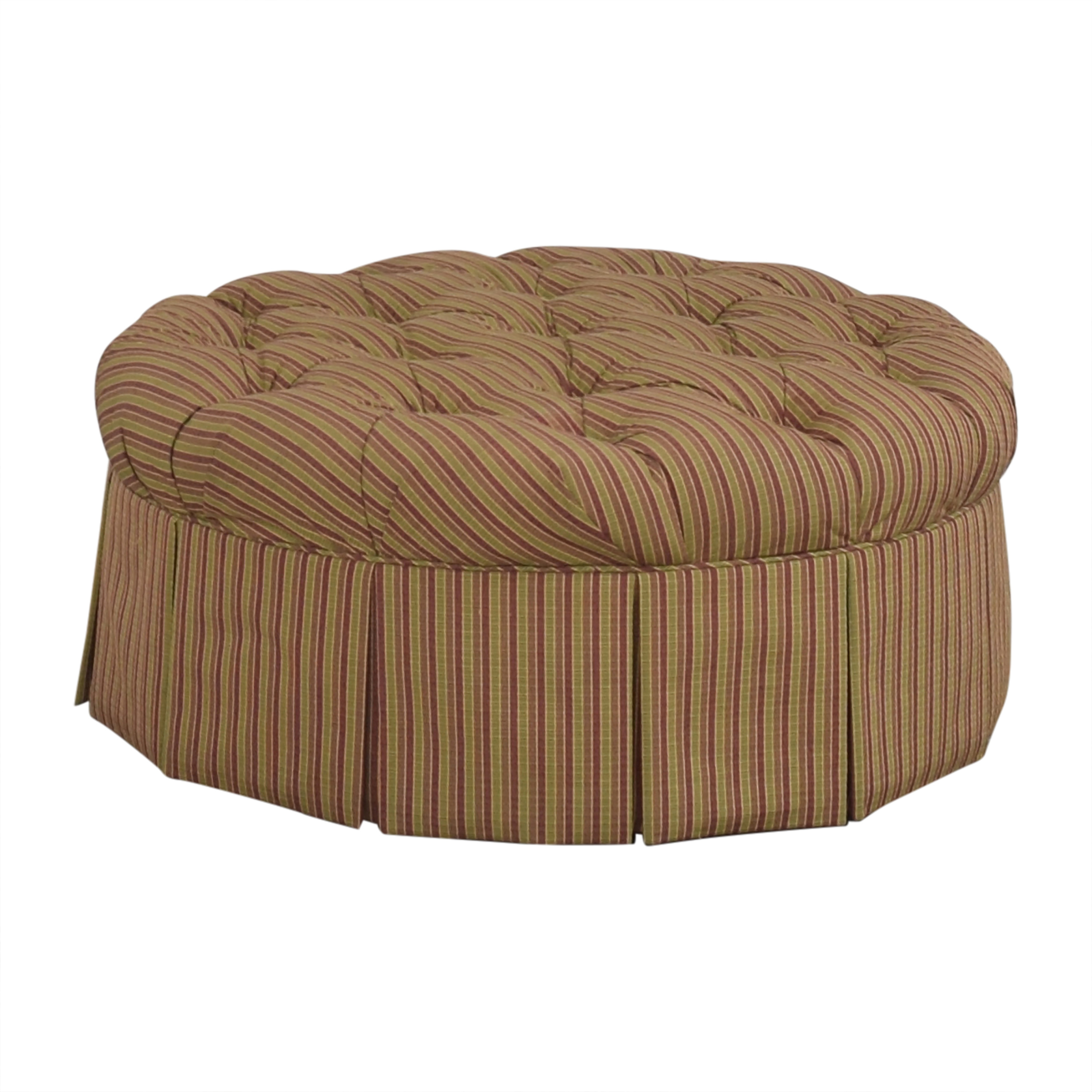 Domain Home Round Tufted Ottoman sale