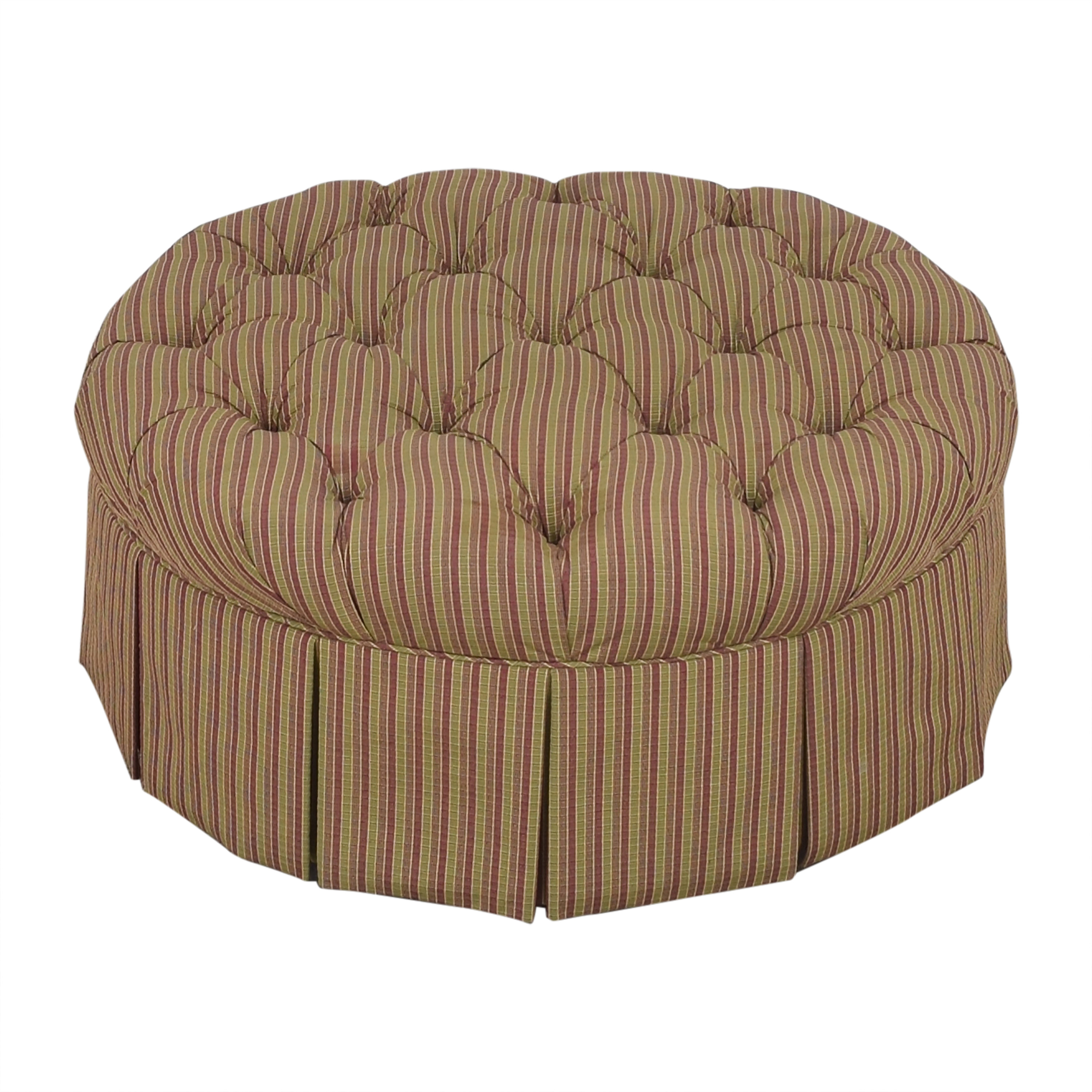 Domain Home Domain Home Round Tufted Ottoman