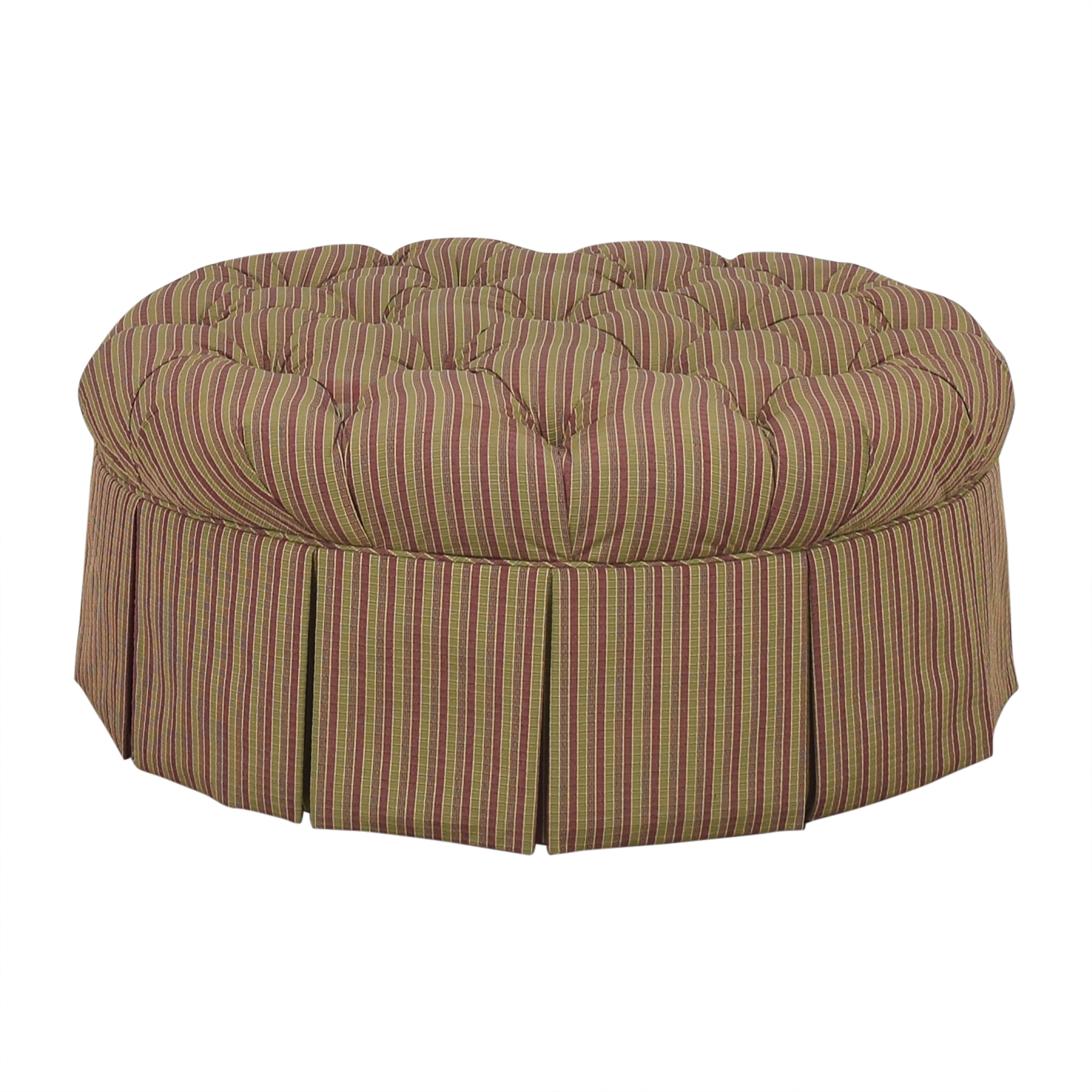 Domain Home Domain Home Round Tufted Ottoman price