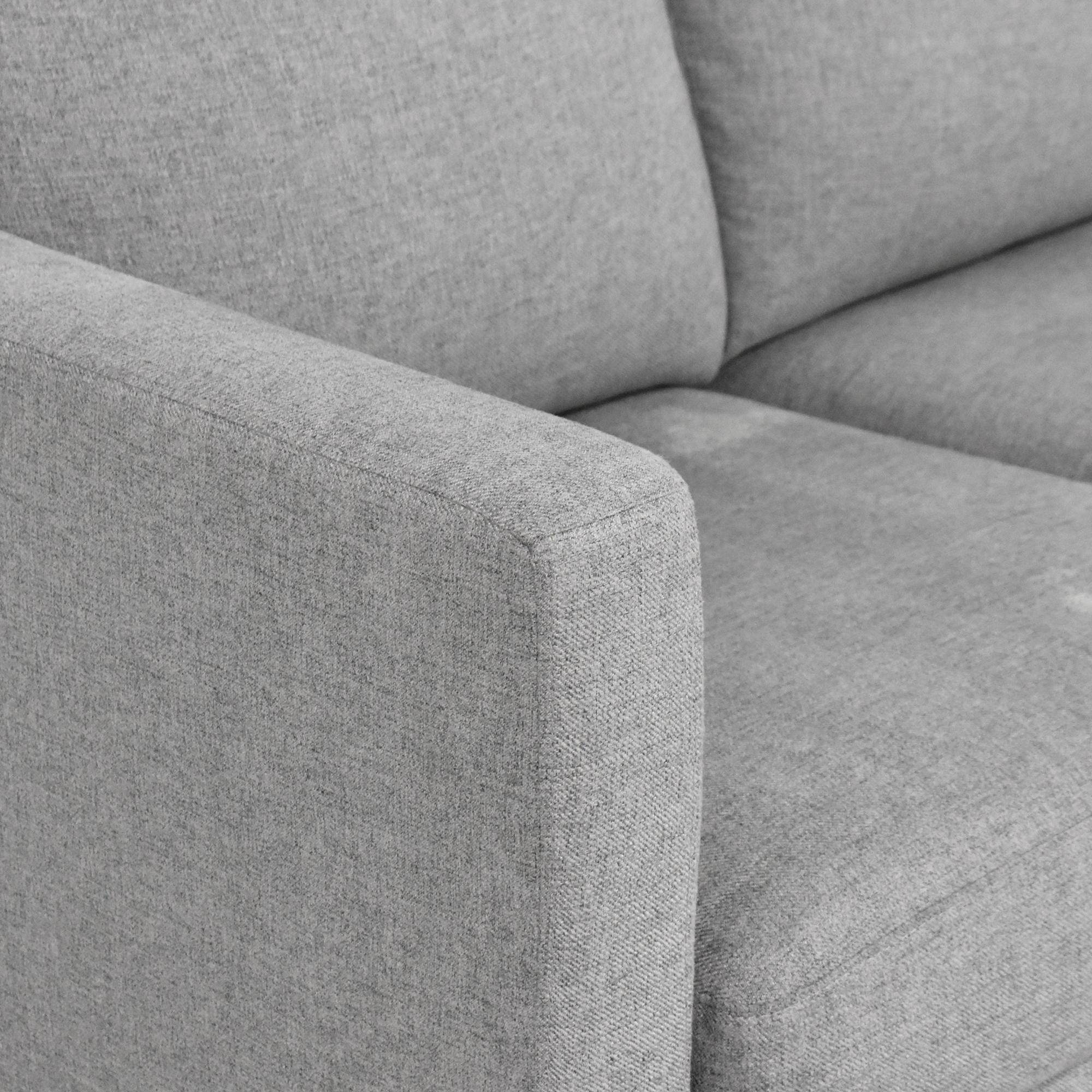 Amazon Amazon Rivet Revolve Modern Upholstered Sofa nj