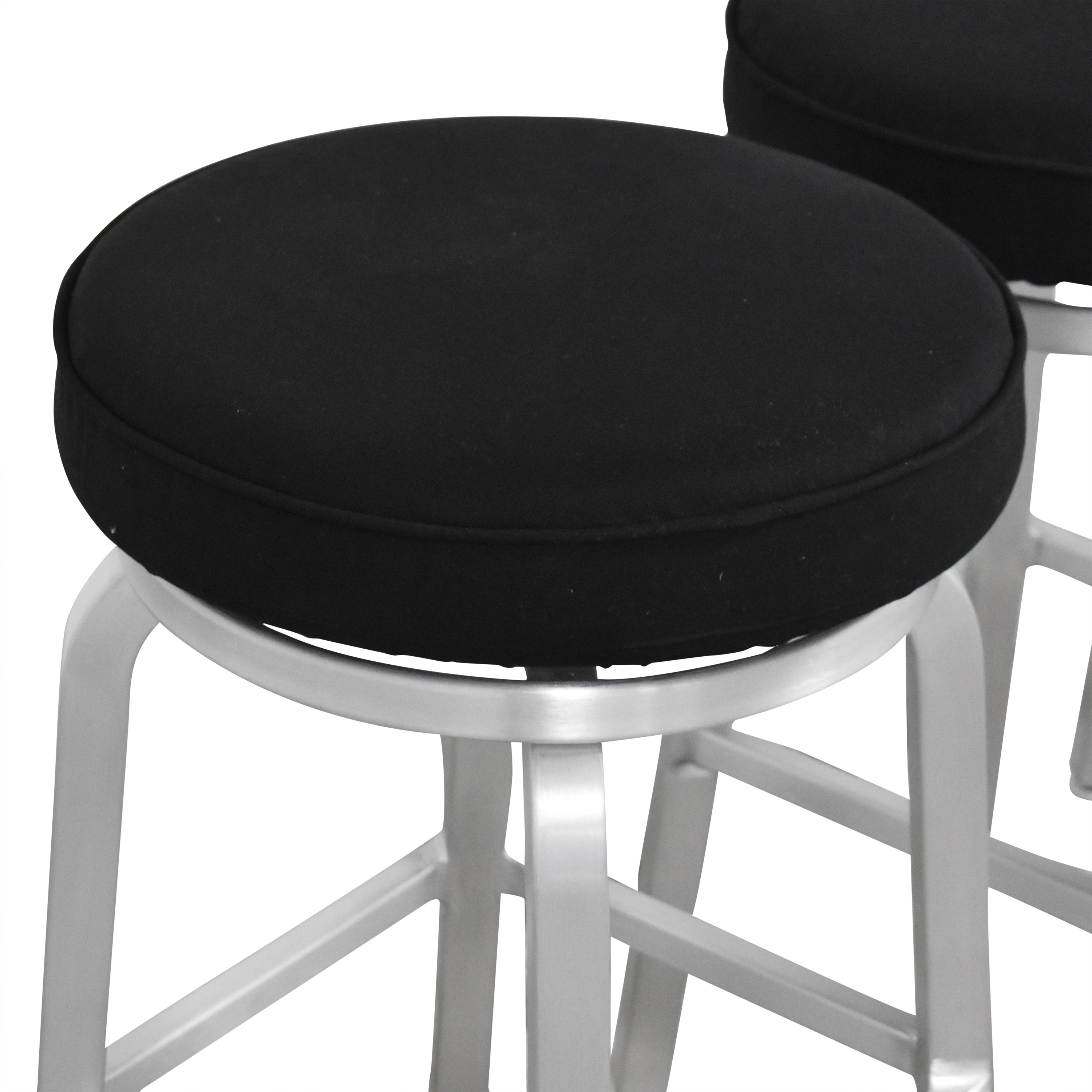 buy Crate & Barrel Crate & Barrel Spin Swivel Backless Counter Stools online