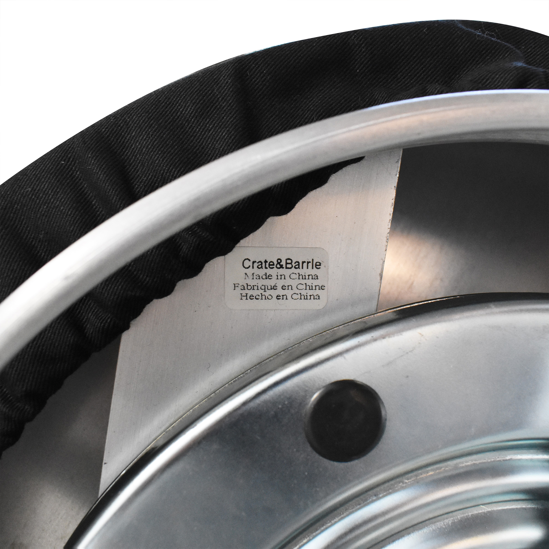 Crate & Barrel Crate & Barrel Spin Swivel Backless Counter Stools Stools