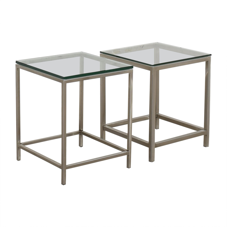 Crate & Barrel Crate & Barrel Era Side Tables coupon
