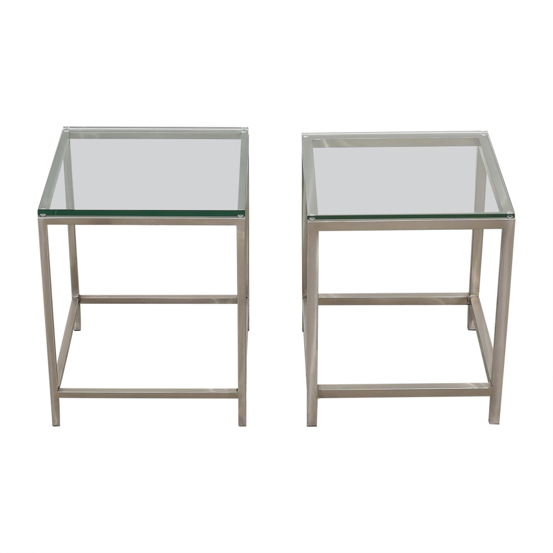 buy Crate & Barrel Era Side Tables Crate & Barrel