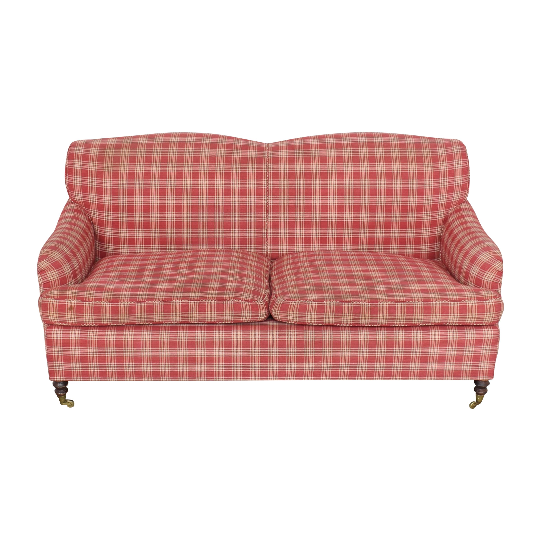 buy Two Cushion Plaid Sofa  Classic Sofas