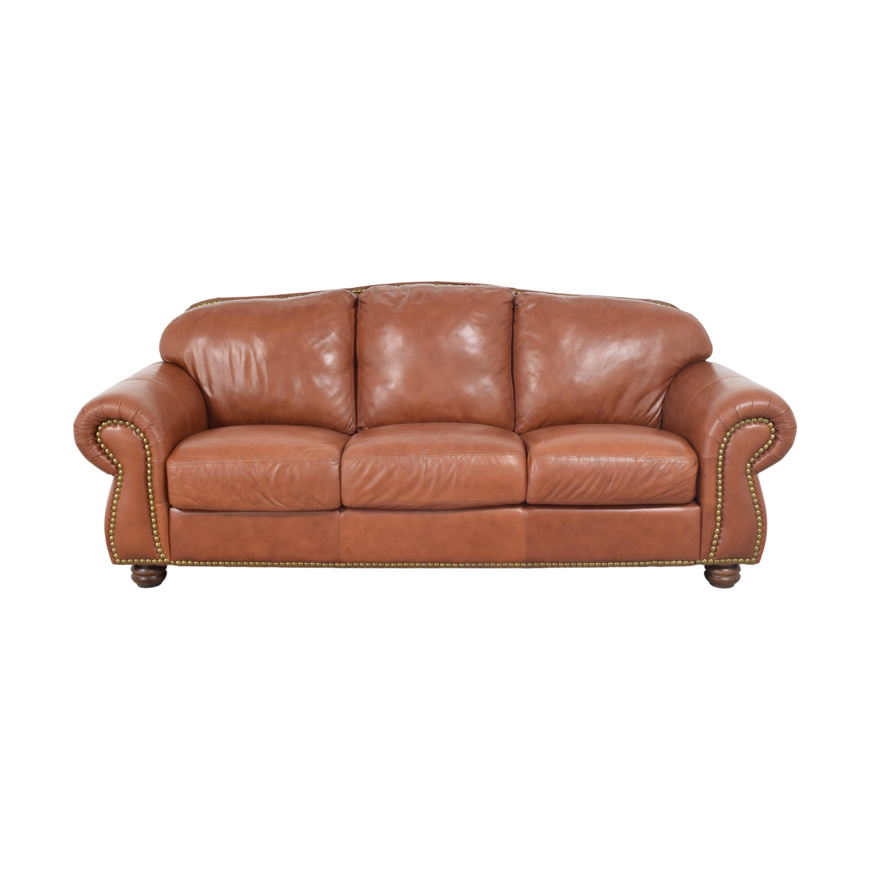 Chateau d'Ax Roll Arm Nailhead Sofa sale