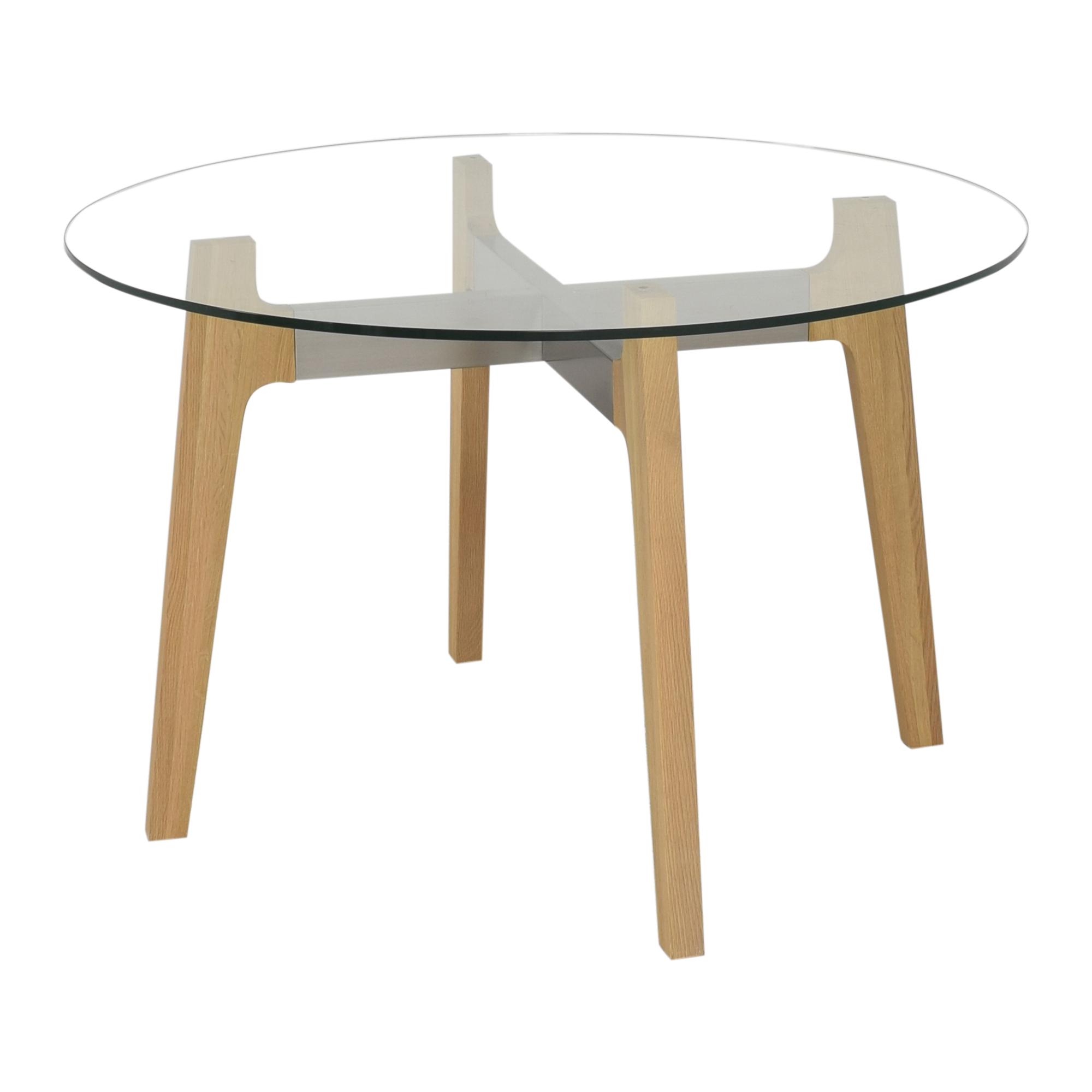 shop CB2 CB2 Brace Round Dining Table online