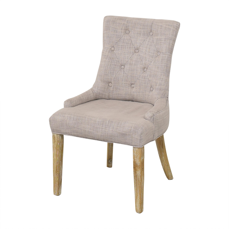 Safavieh Safavieh Alexia Dining Chairs light grey & brown