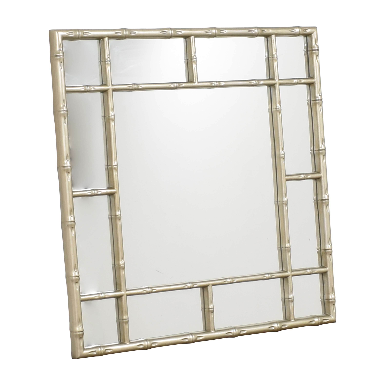 Howard Elliott Collection Howard Elliott Collection Bamboo-Style Wall Mirror pa
