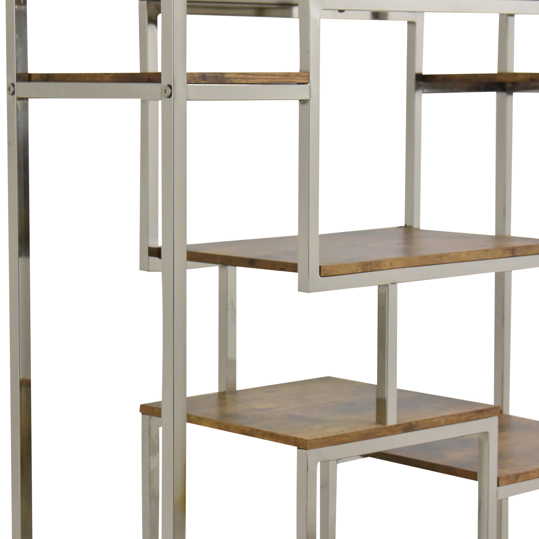 Wayfair Wayfair MErcury Row Clements Geometric Bookcase second hand