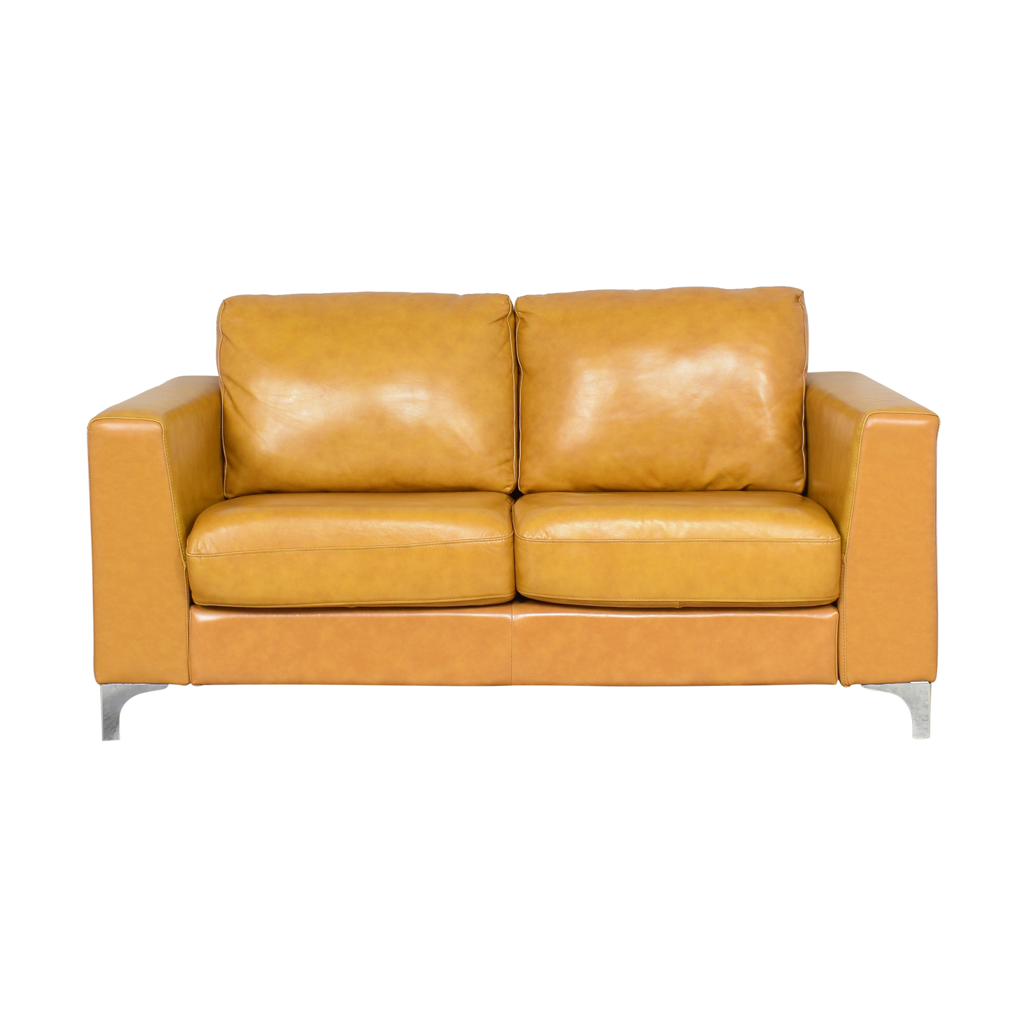 shop Wayfair Modern Two Cushion Sofa Wayfair Classic Sofas