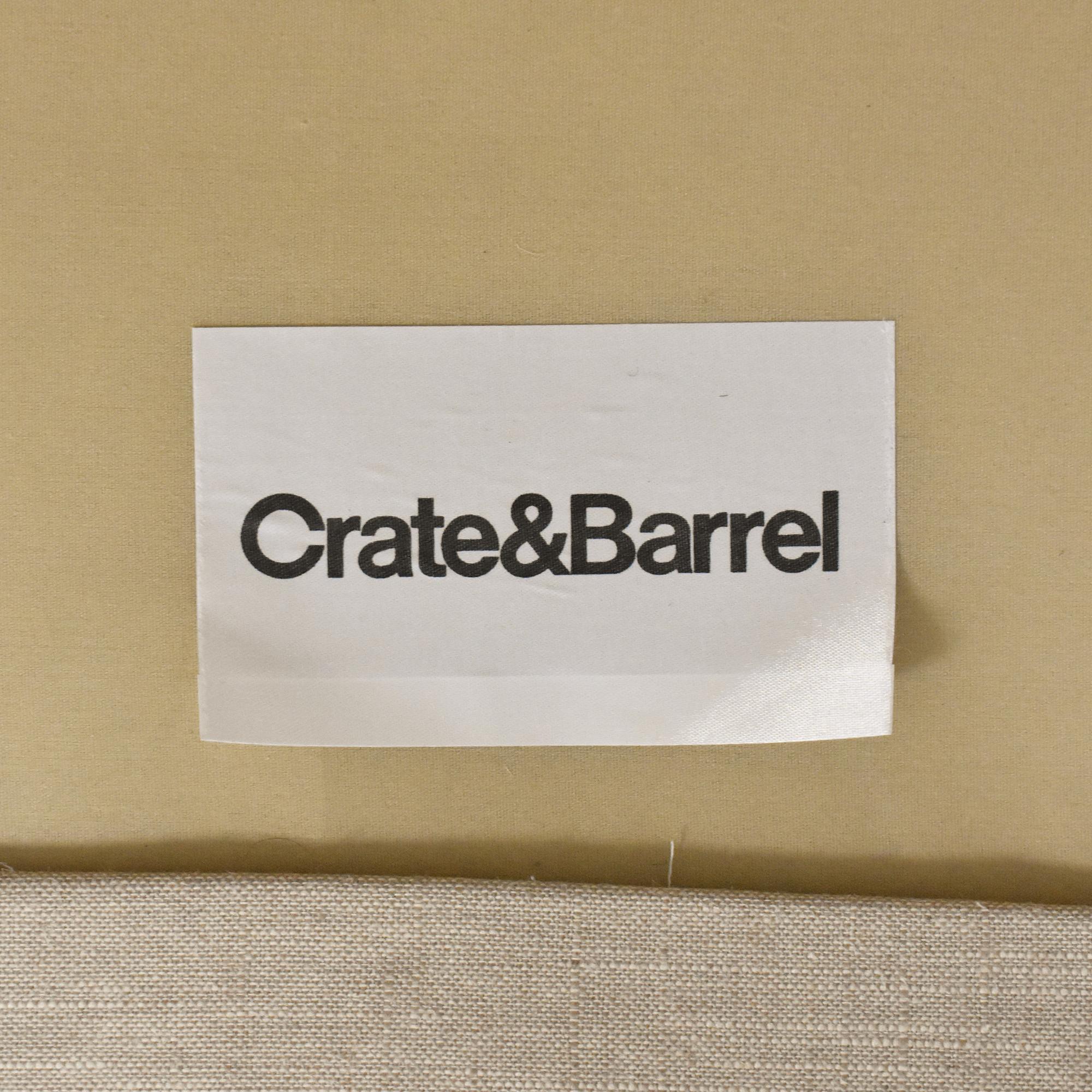 Crate & Barrel Crate & Barrel Magritte Sofa Classic Sofas
