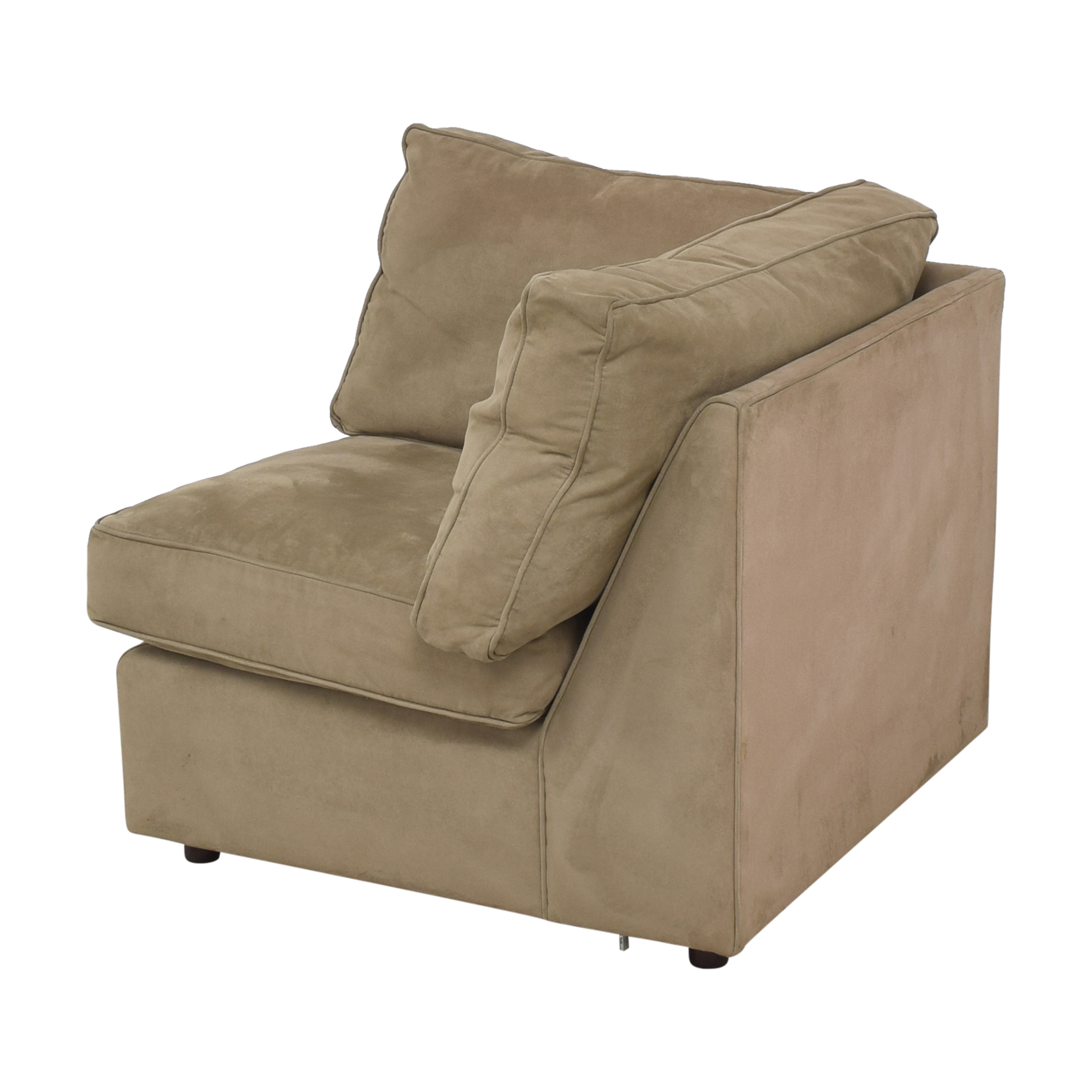 buy Room & Board Room & Board Corner Chair with Ottoman online