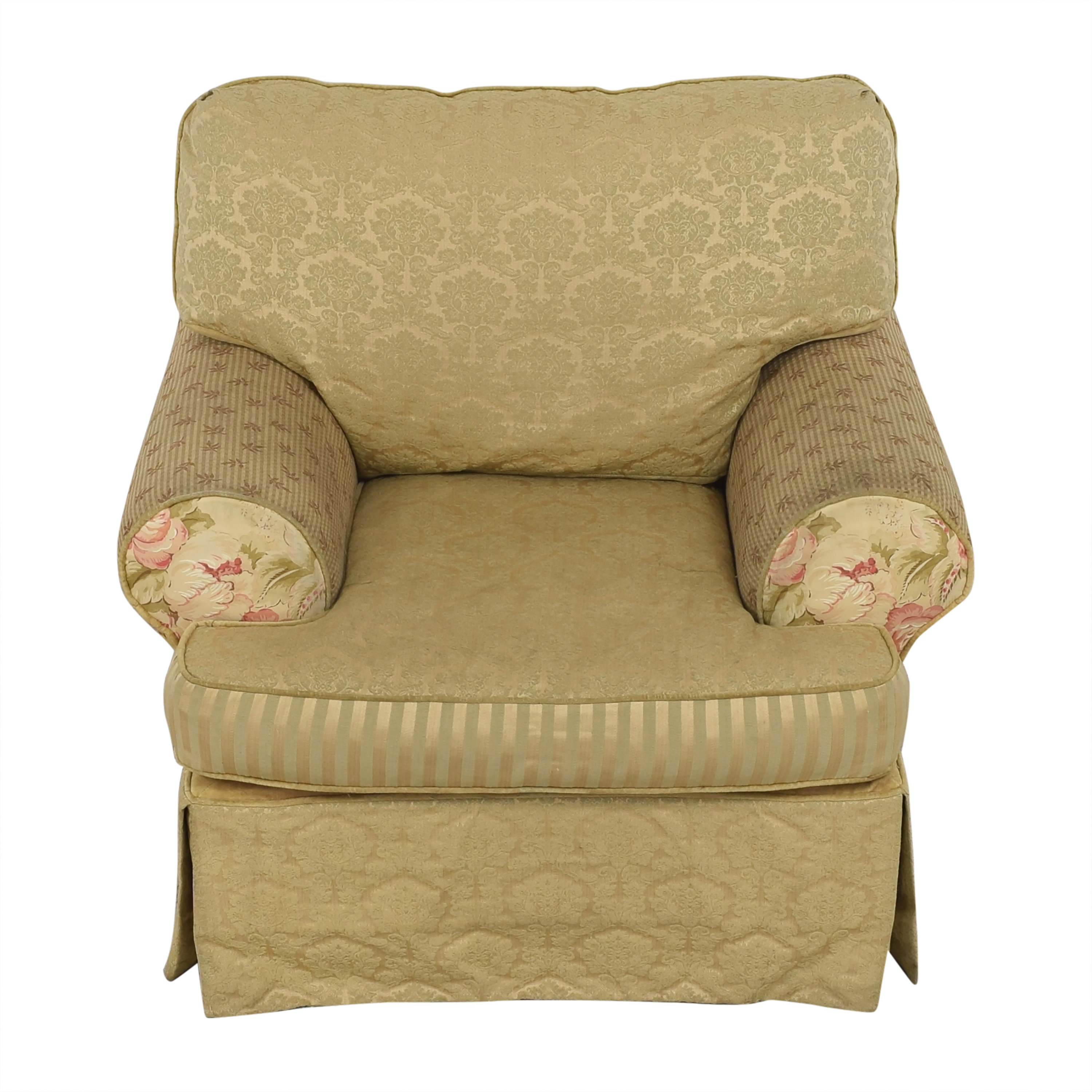 Alexvale Alexvale Floral Accent Chair dimensions