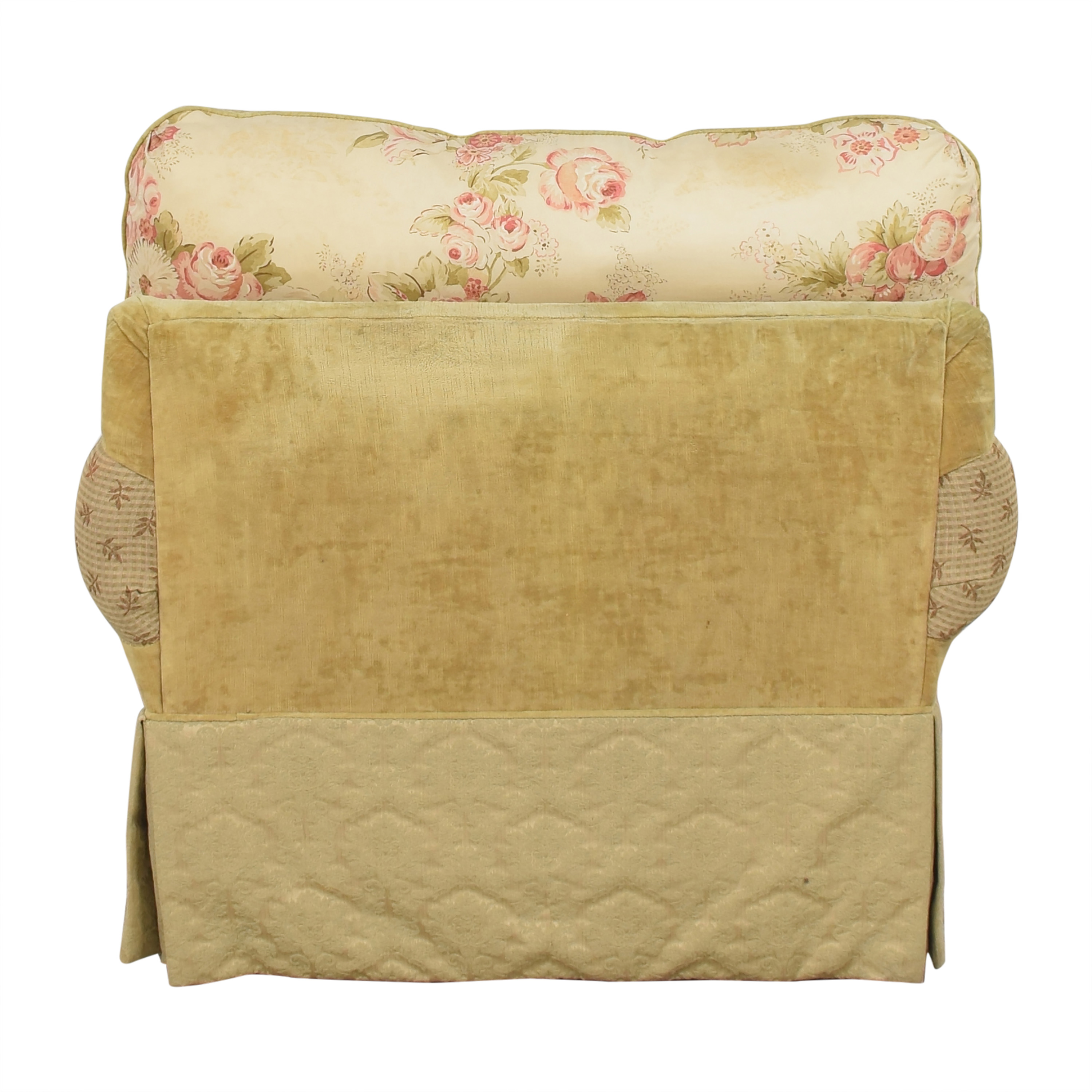 shop Alexvale Floral Accent Chair Alexvale