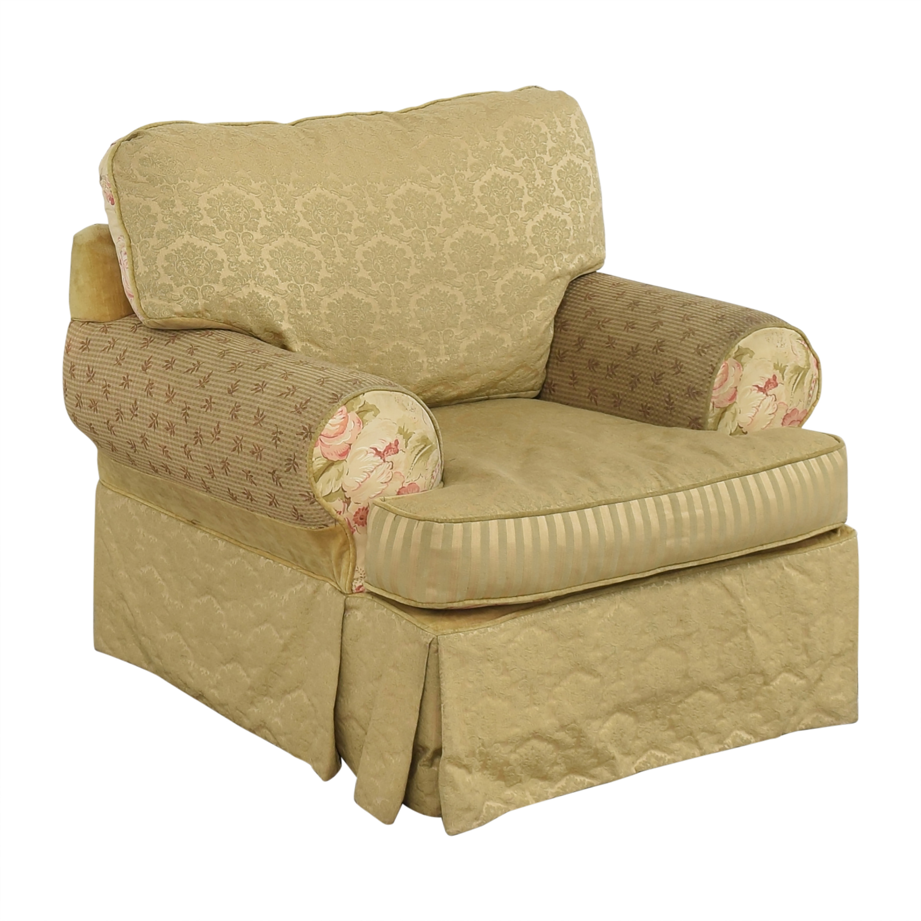 Alexvale Alexvale Floral Accent Chair nj