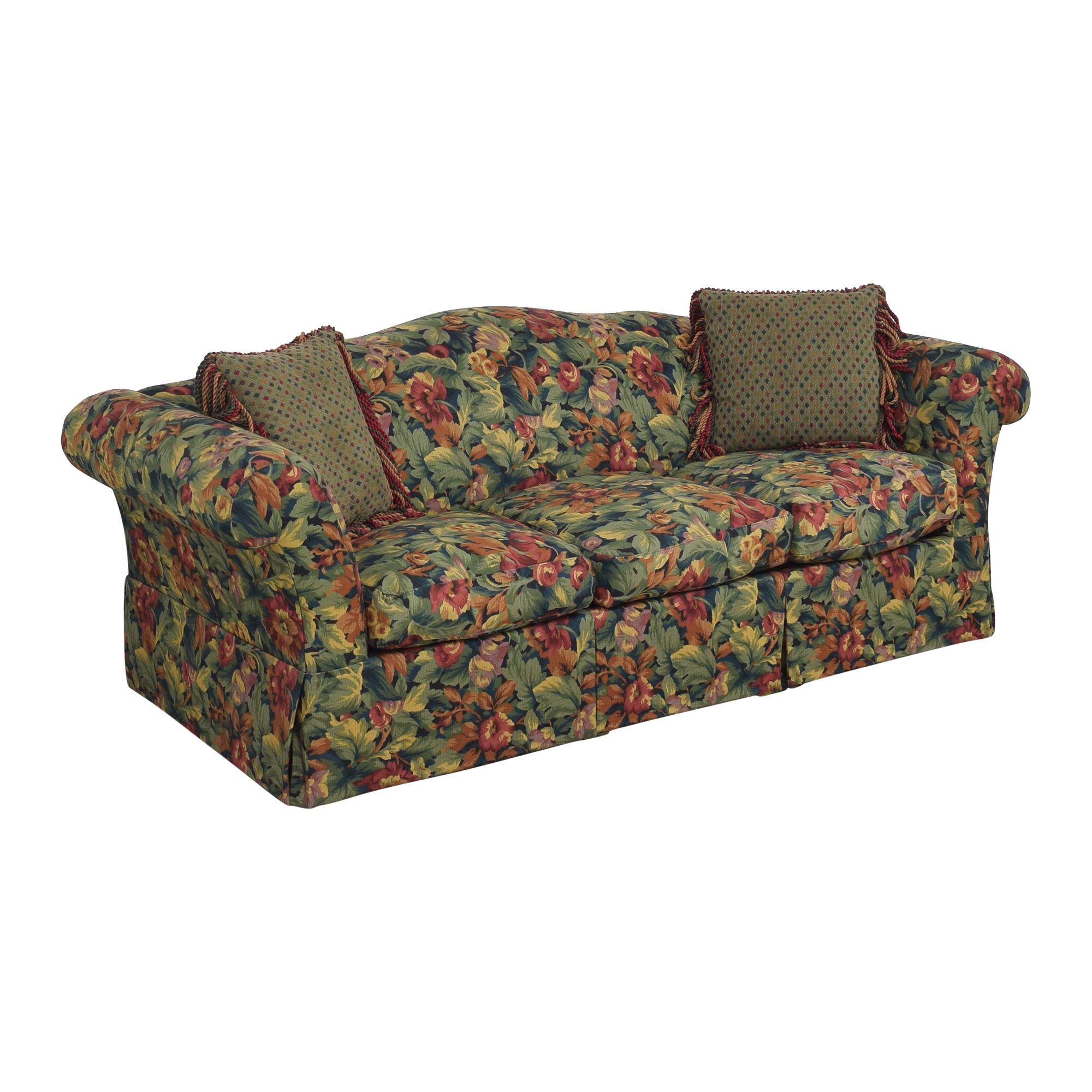 Floral Three Cushion Sofa coupon