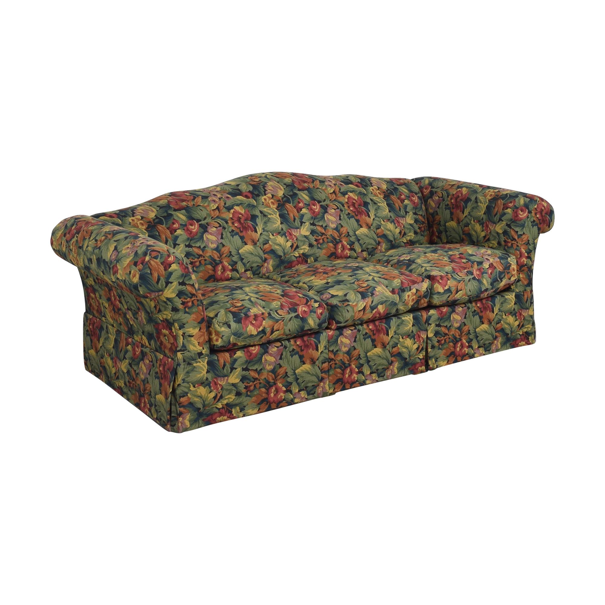 Floral Three Cushion Sofa nj