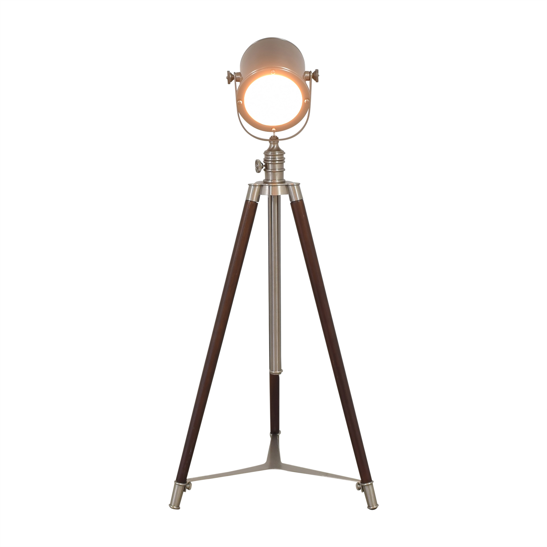 shop Pottery Barn Photographers Adjustable Tripod Floor Lamp Pottery Barn Decor