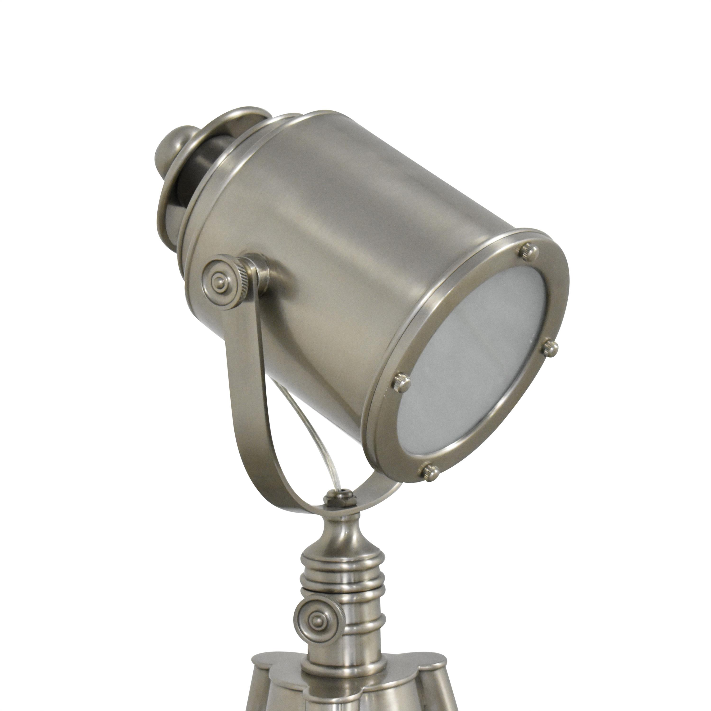 Pottery Barn Pottery Barn Photographers Adjustable Tripod Floor Lamp used