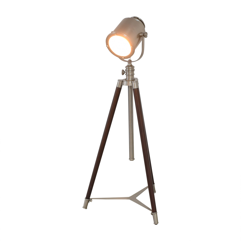 buy Pottery Barn Pottery Barn Photographers Adjustable Tripod Floor Lamp online