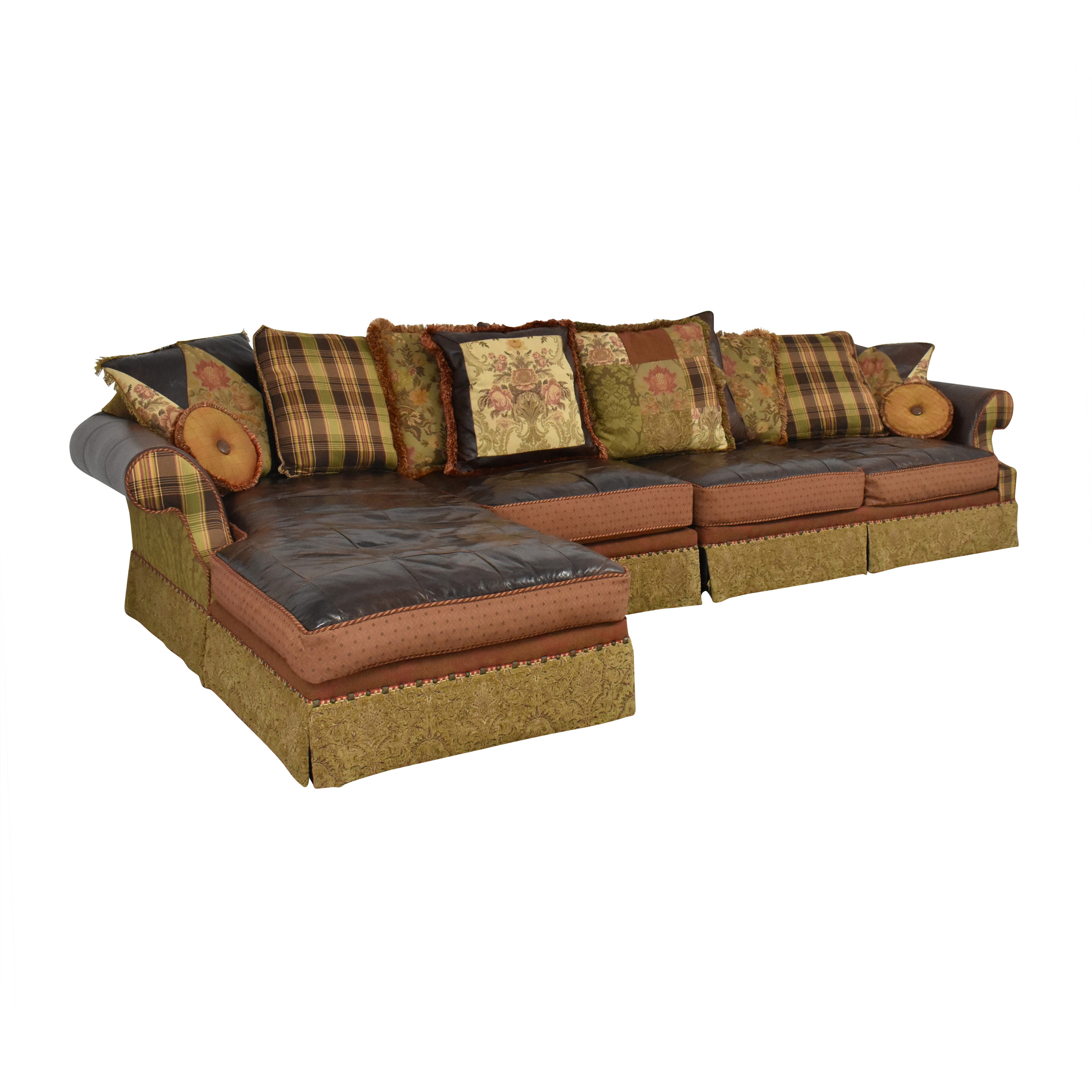 Key City Jeff Zimmerman Collection Mixed Media Sectional sale