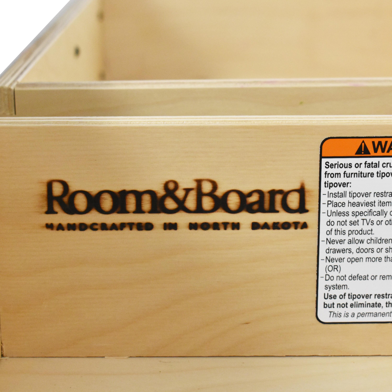 Room & Board Room & Board Copenhagen Three-Drawer Media Cabinet ma