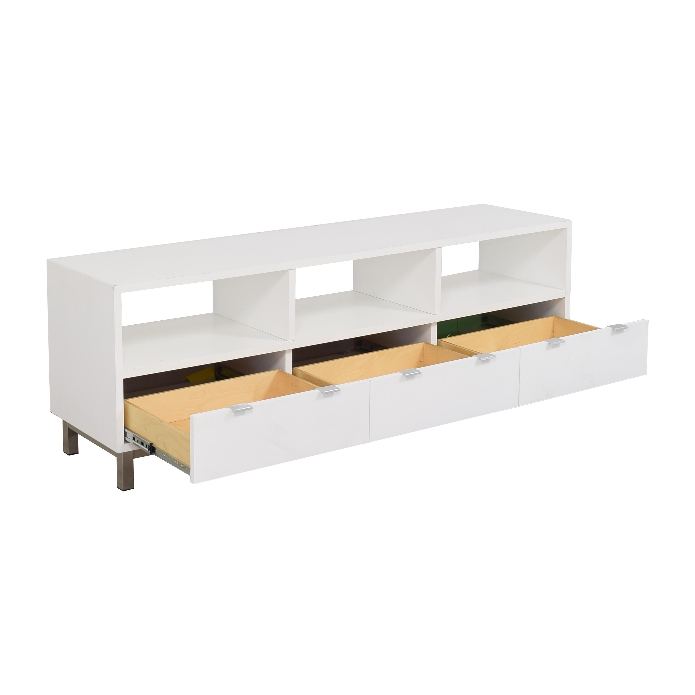 Room & Board Room & Board Copenhagen Three-Drawer Media Cabinet for sale