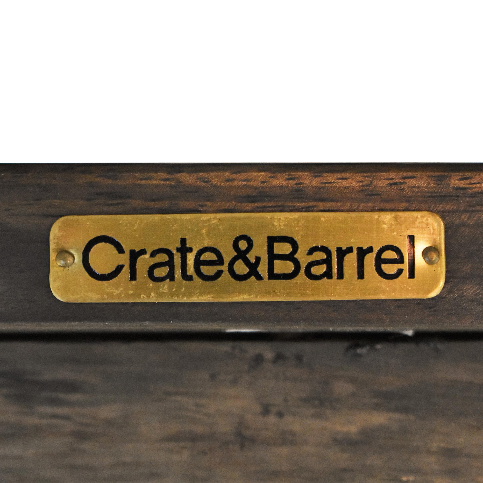 Crate & Barrel Crate & Barrel Basque Counter Stools ma