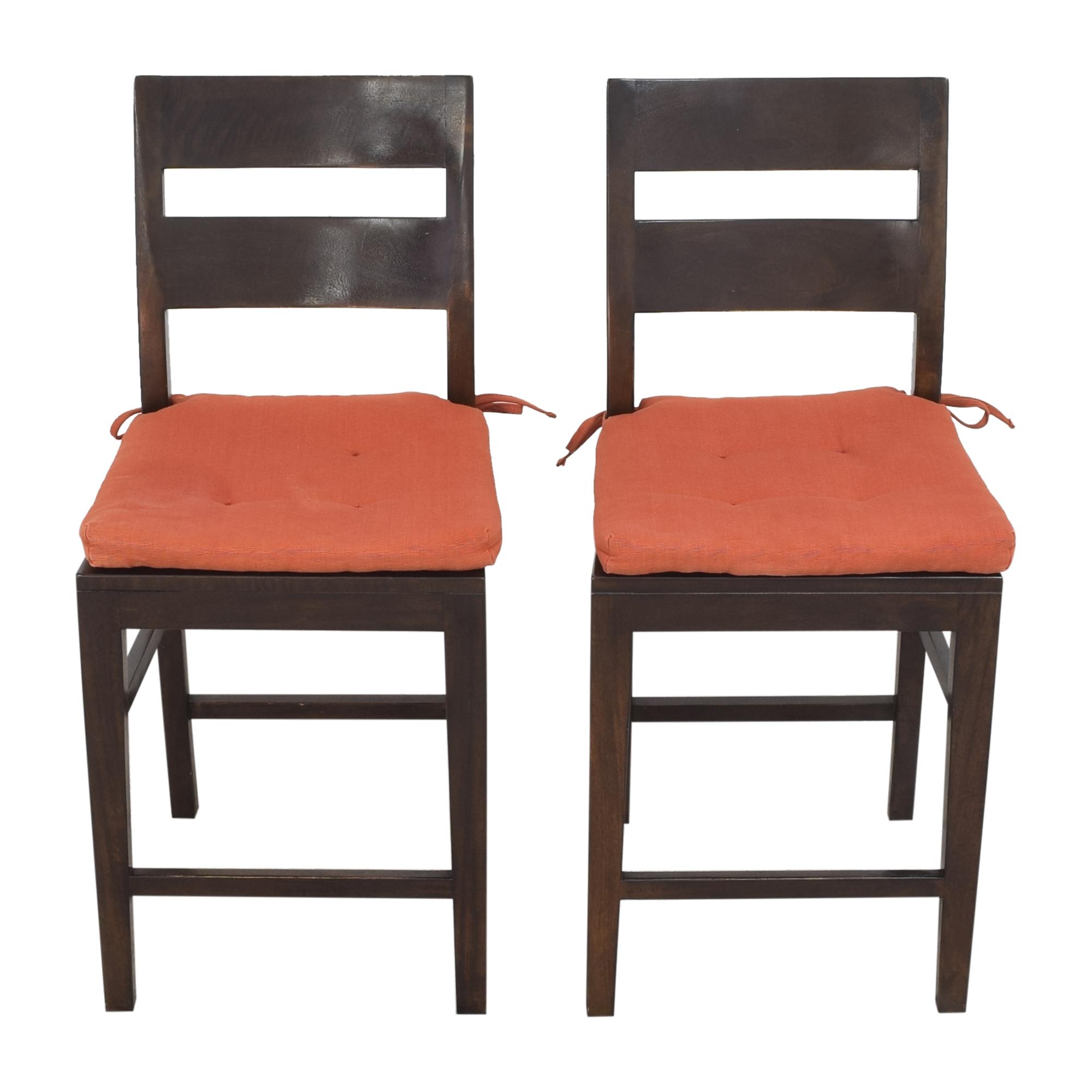 Crate & Barrel Basque Counter Stools / Stools