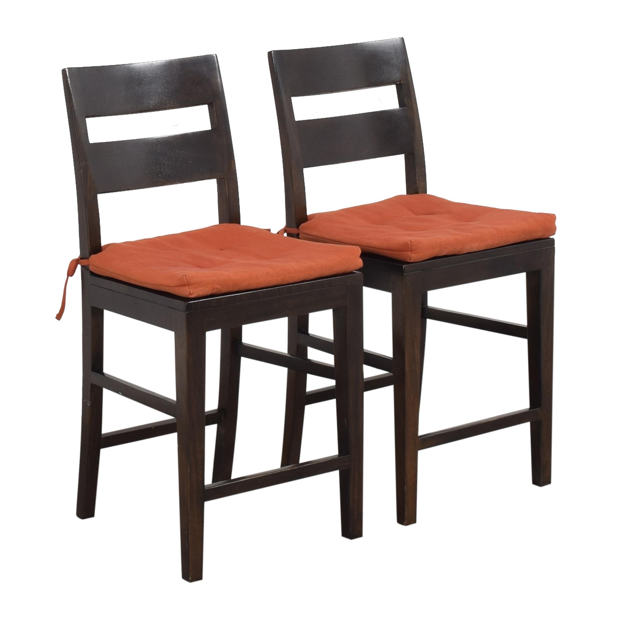shop Crate & Barrel Basque Counter Stools Crate & Barrel Chairs