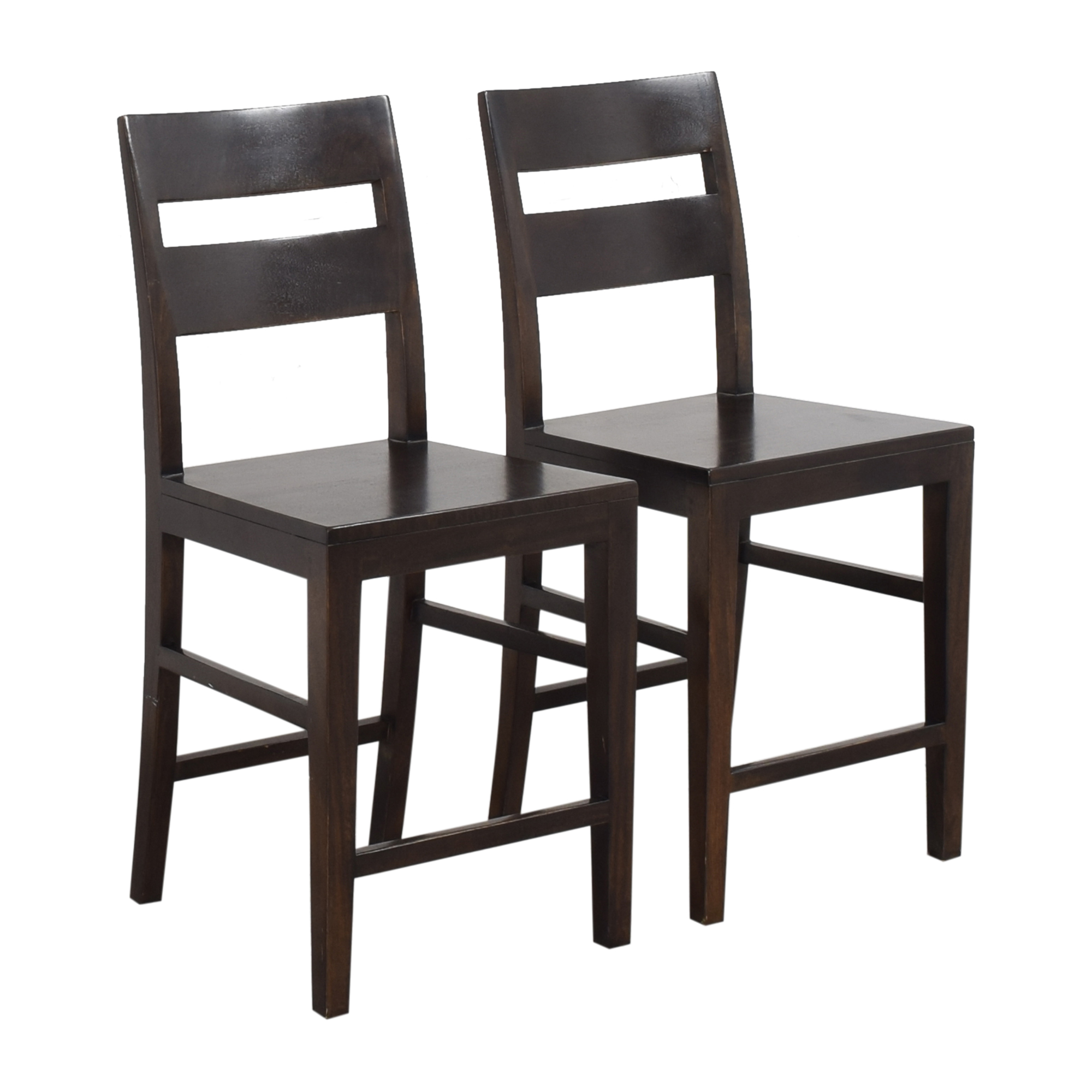 Crate & Barrel Basque Counter Stools / Chairs