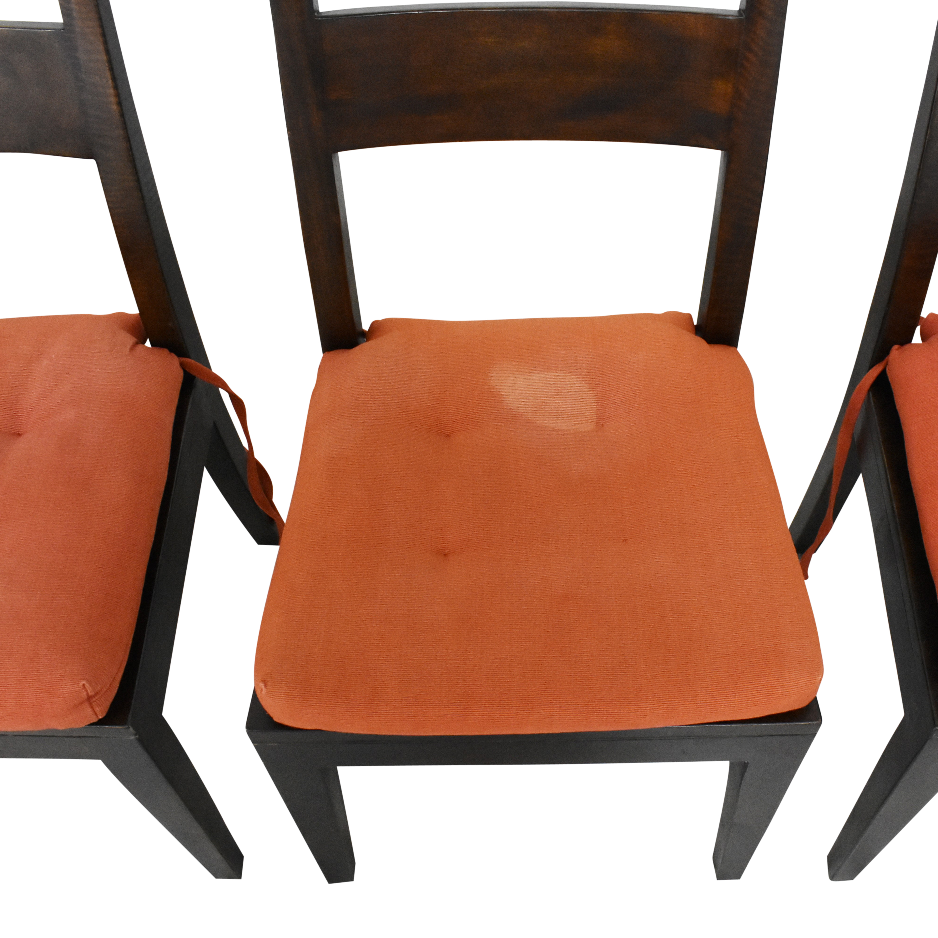 Crate & Barrel Crate & Barrel Basque Dining Side Chairs nyc