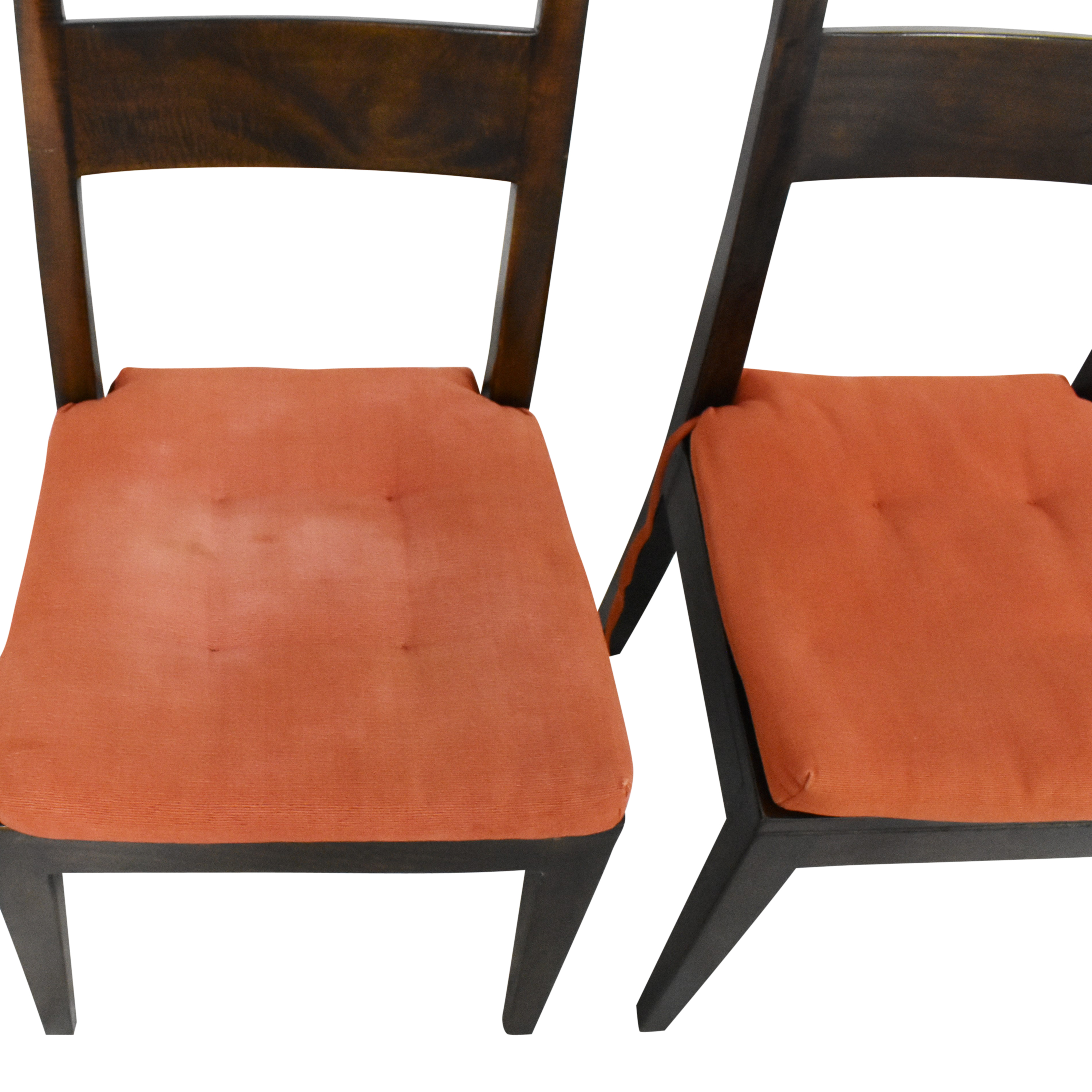 Crate & Barrel Crate & Barrel Basque Dining Side Chairs second hand
