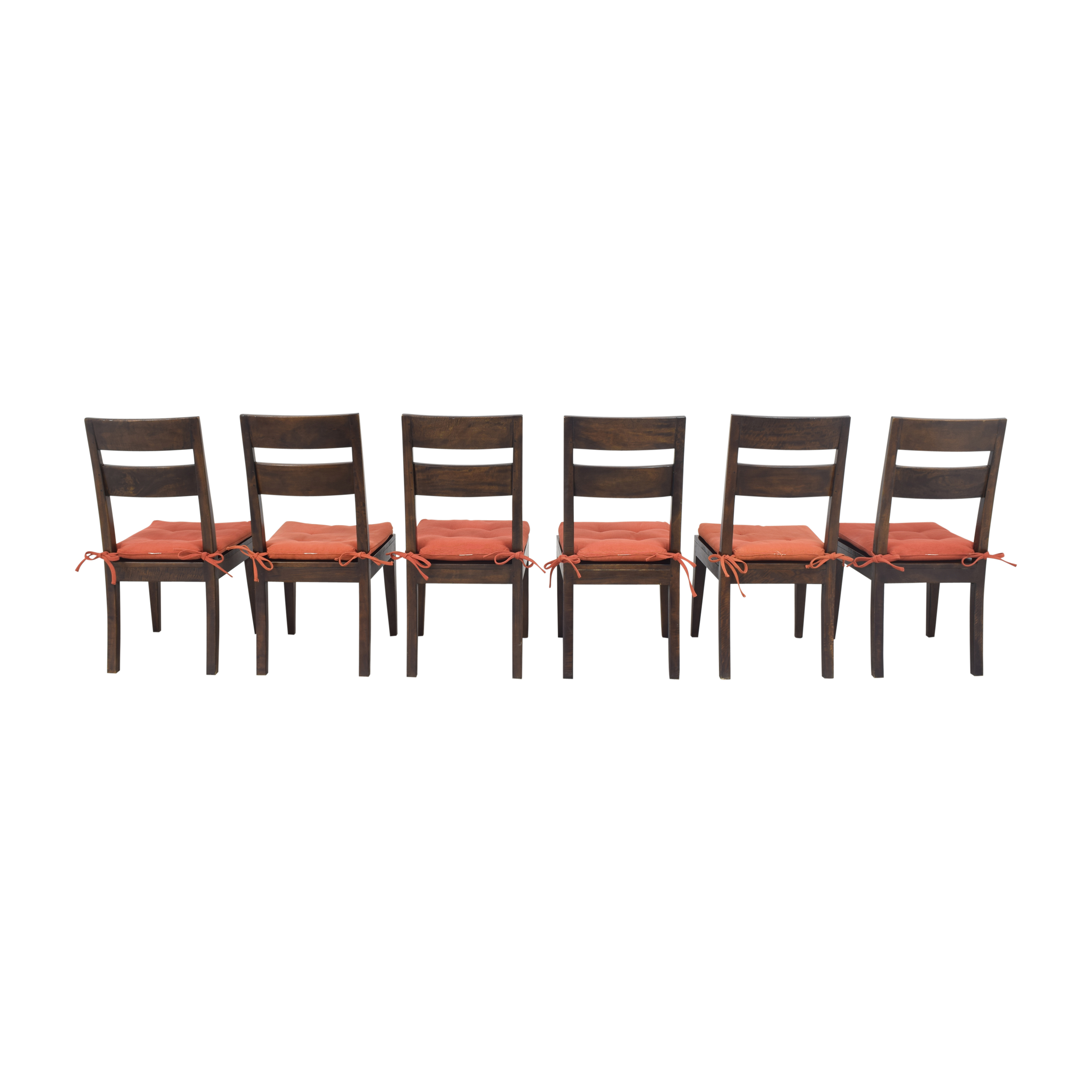 shop Crate & Barrel Basque Dining Side Chairs Crate & Barrel