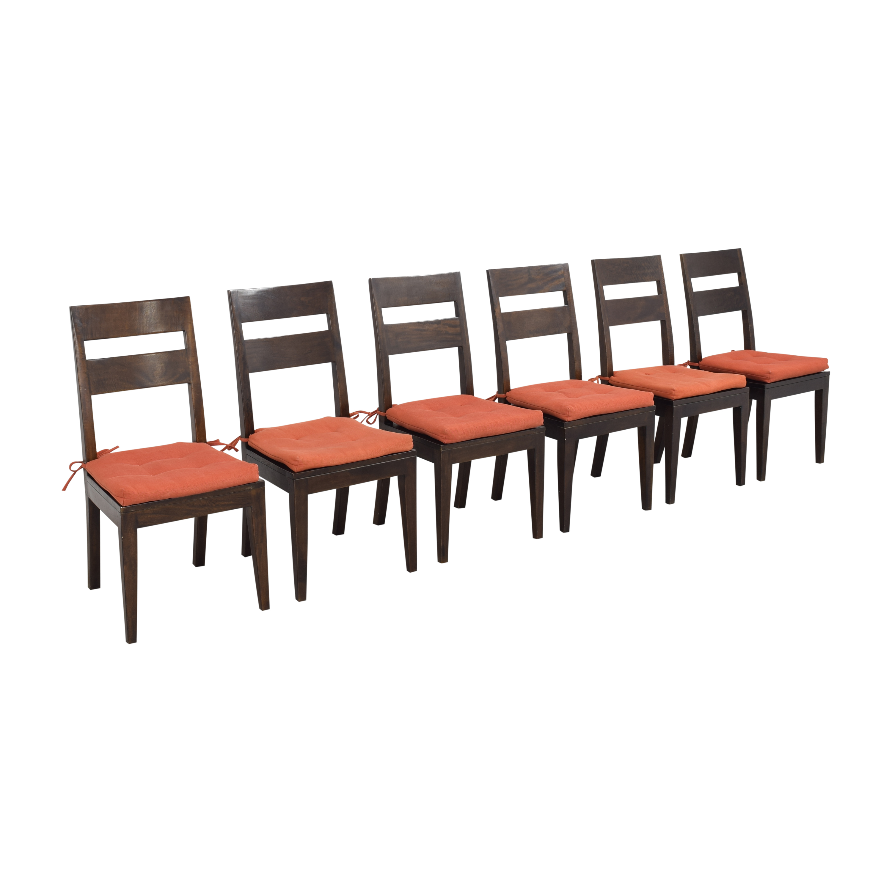 Crate & Barrel Basque Dining Side Chairs sale