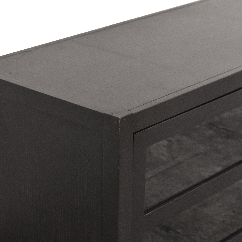 Crate & Barrel Crate & Barrel Morrison Media Console dark brown