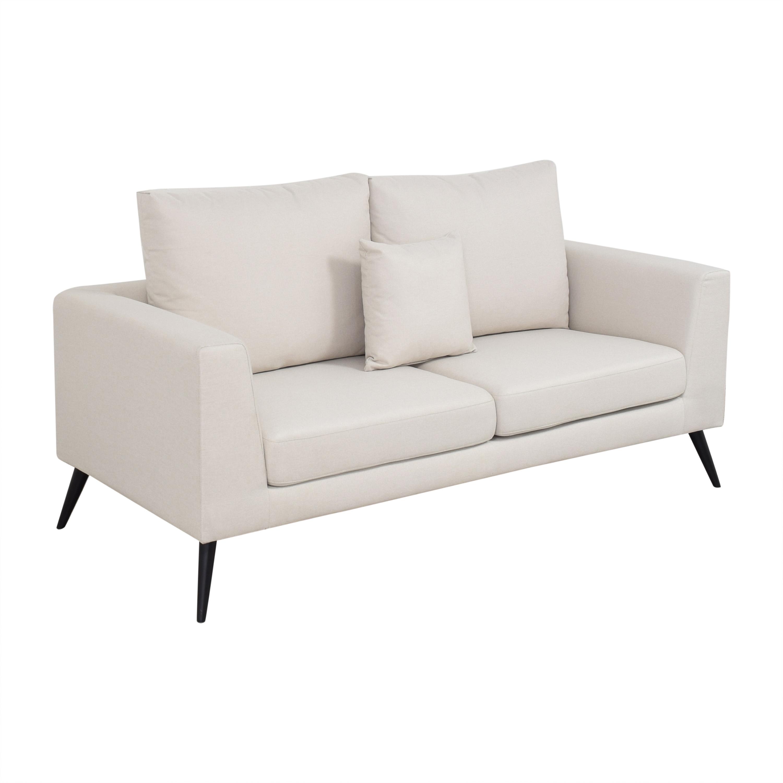 Wayfair Wayfair George Oliver Mid-Century Sofa discount