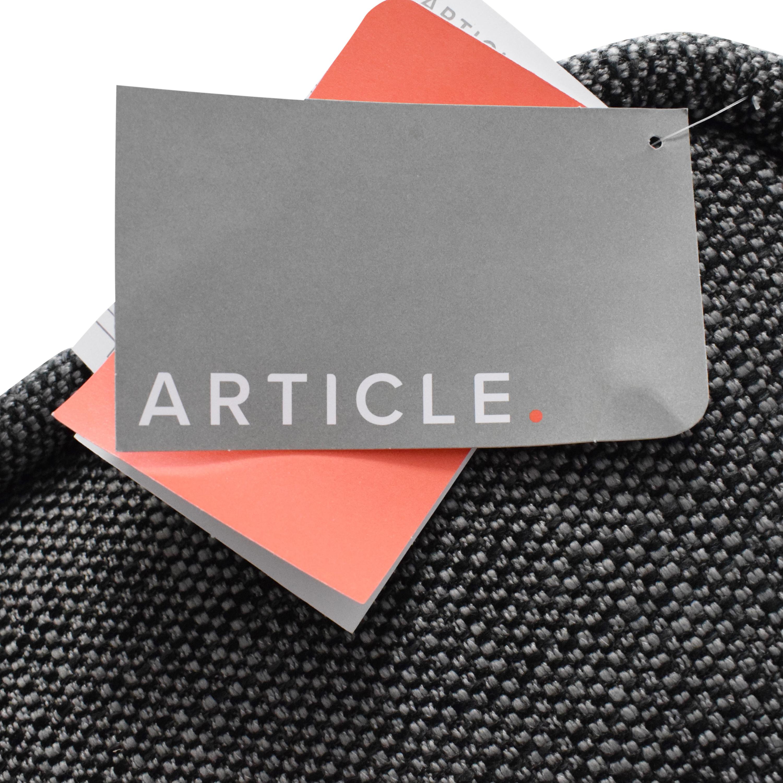 Article Quadra Modular Armless Sofa / Sectionals
