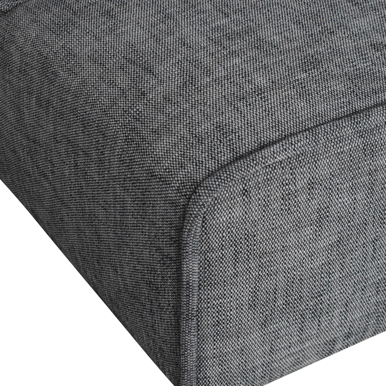 Article Article Quadra Modular Armless Sofa Sofas