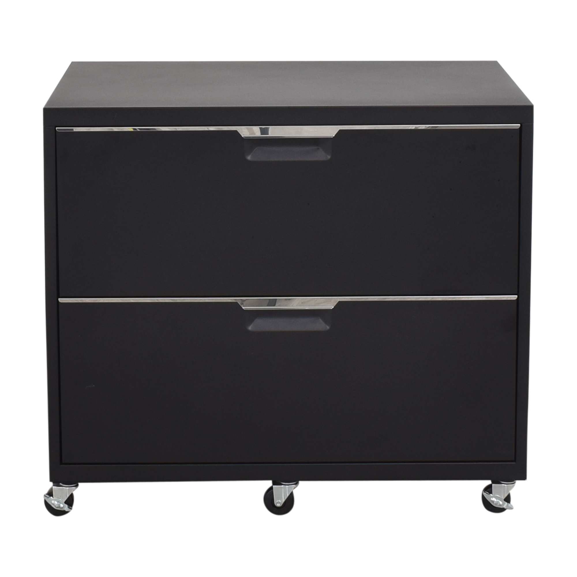 shop CB2 TPS Wide Filing Cabinet CB2 Storage