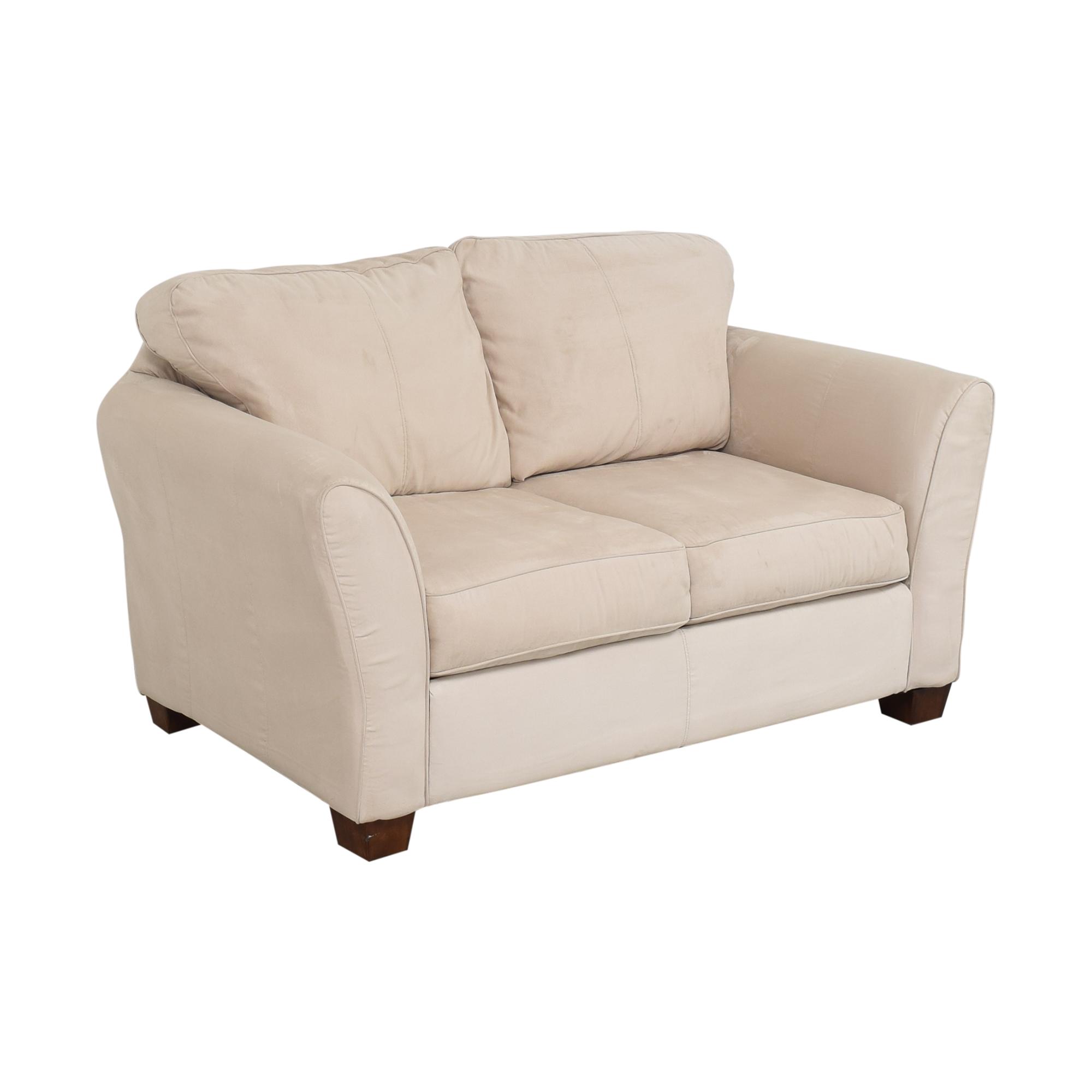 shop Ashley Furniture Modern Loveseat Ashley Furniture
