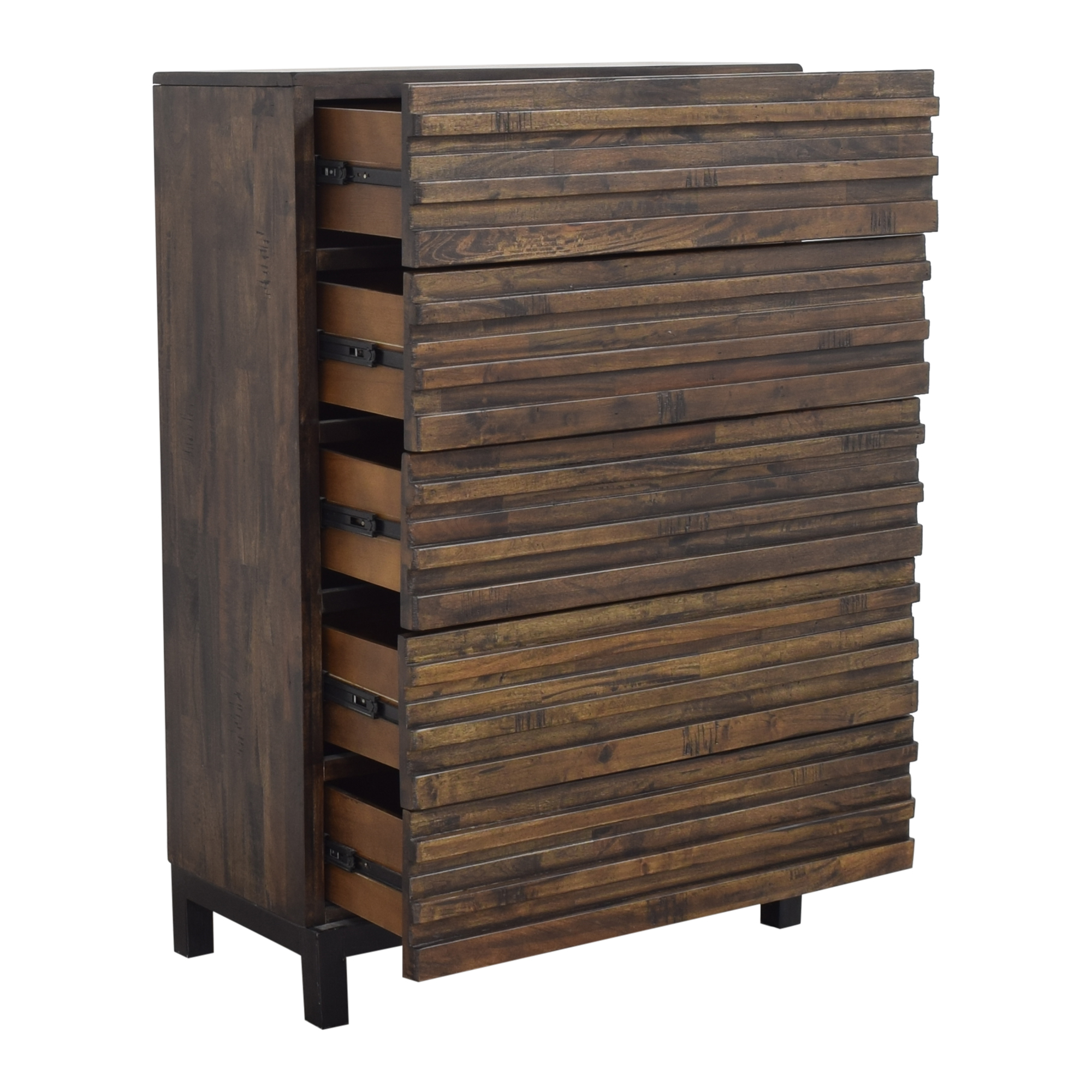 shop Raymour & Flanigan Five Drawer Chest Raymour & Flanigan