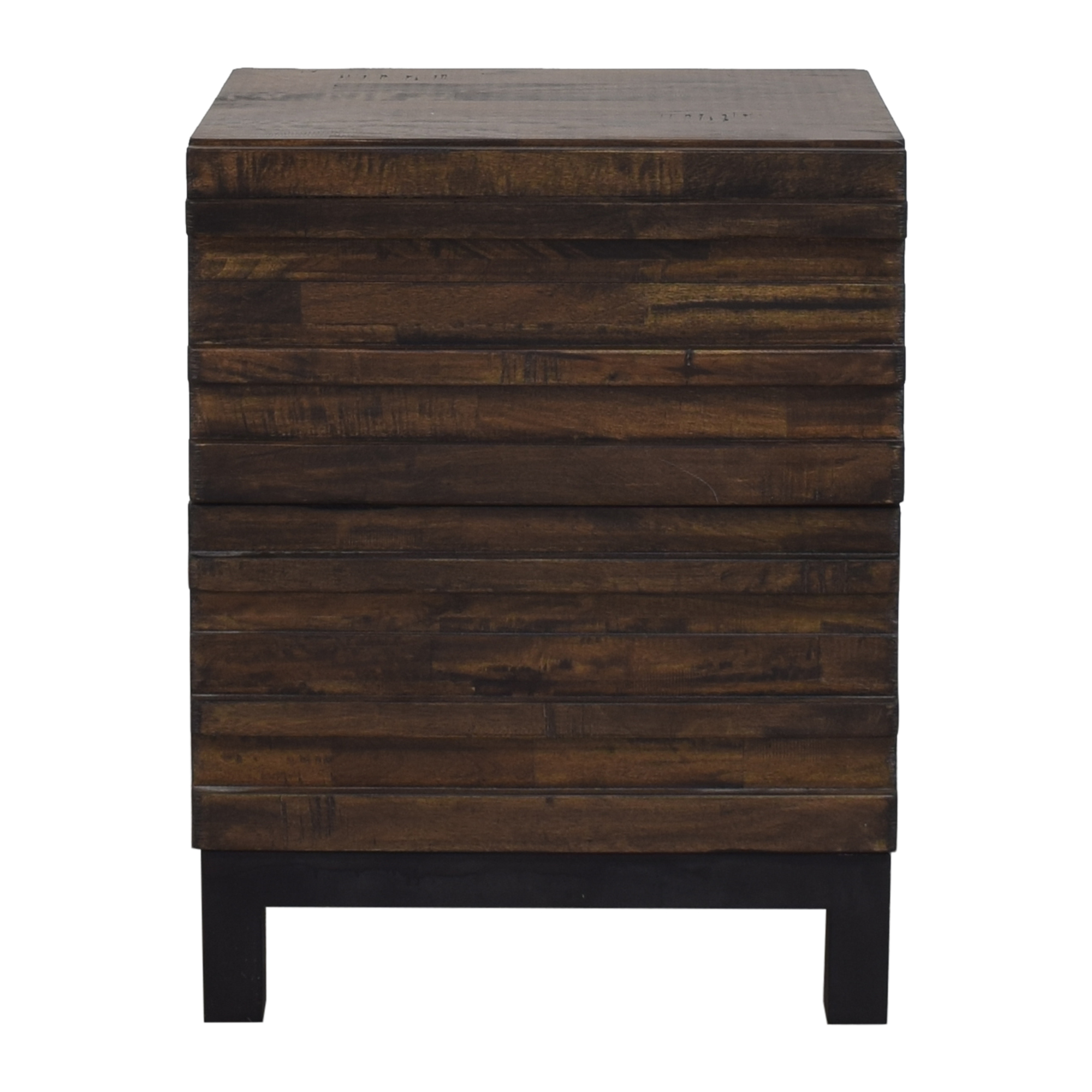 buy Raymour & Flanigan Two Drawer Nightstand Raymour & Flanigan