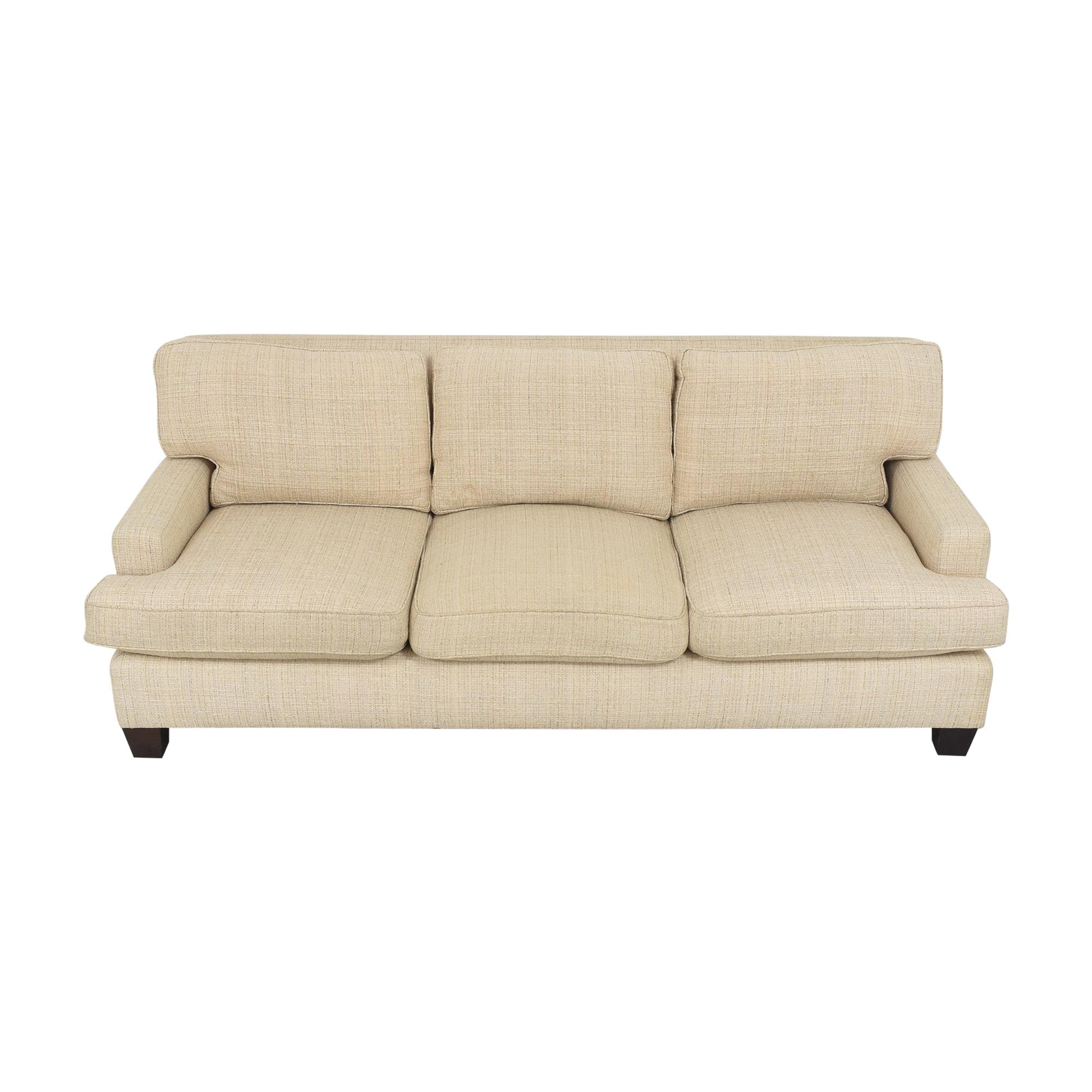 Baker Furniture Baker Track Arm Sofa Classic Sofas
