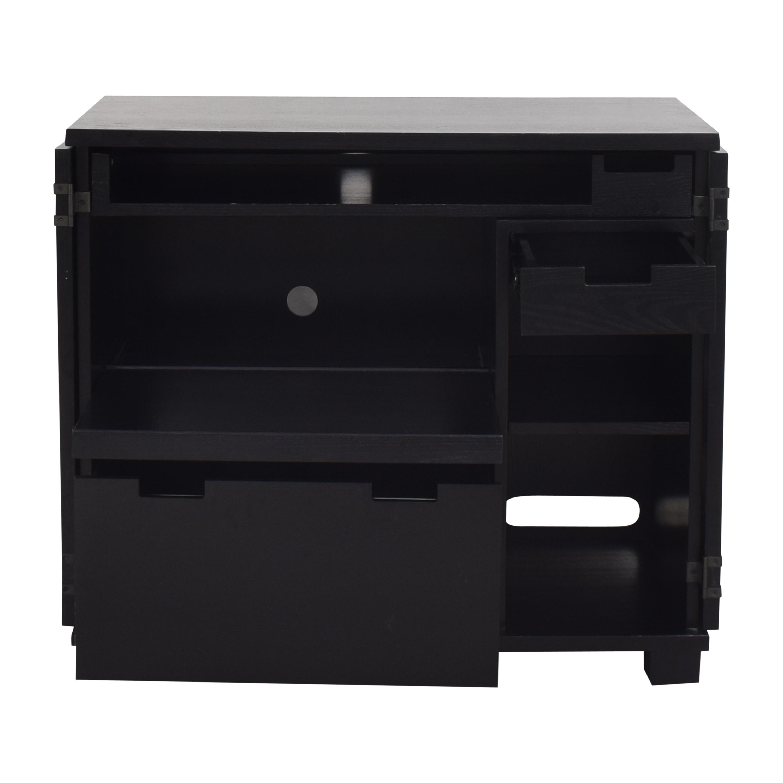shop Crate & Barrel Incognito Compact Office Crate & Barrel Tables