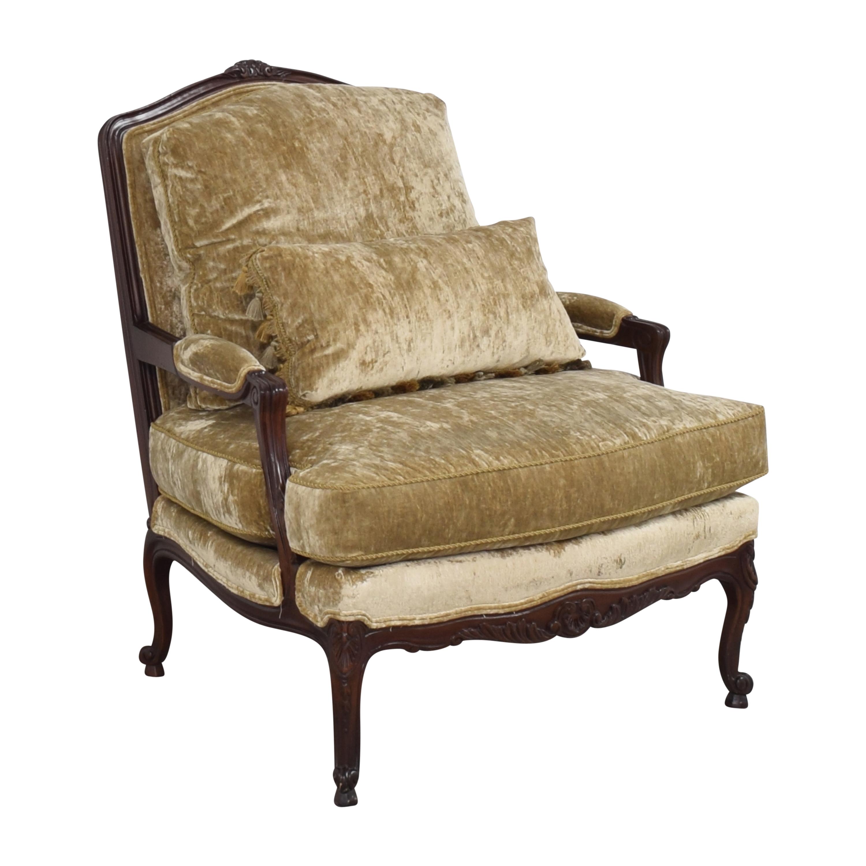 Sherrill Furniture Sherrill Custom Fauteuil Accent Chair dimensions