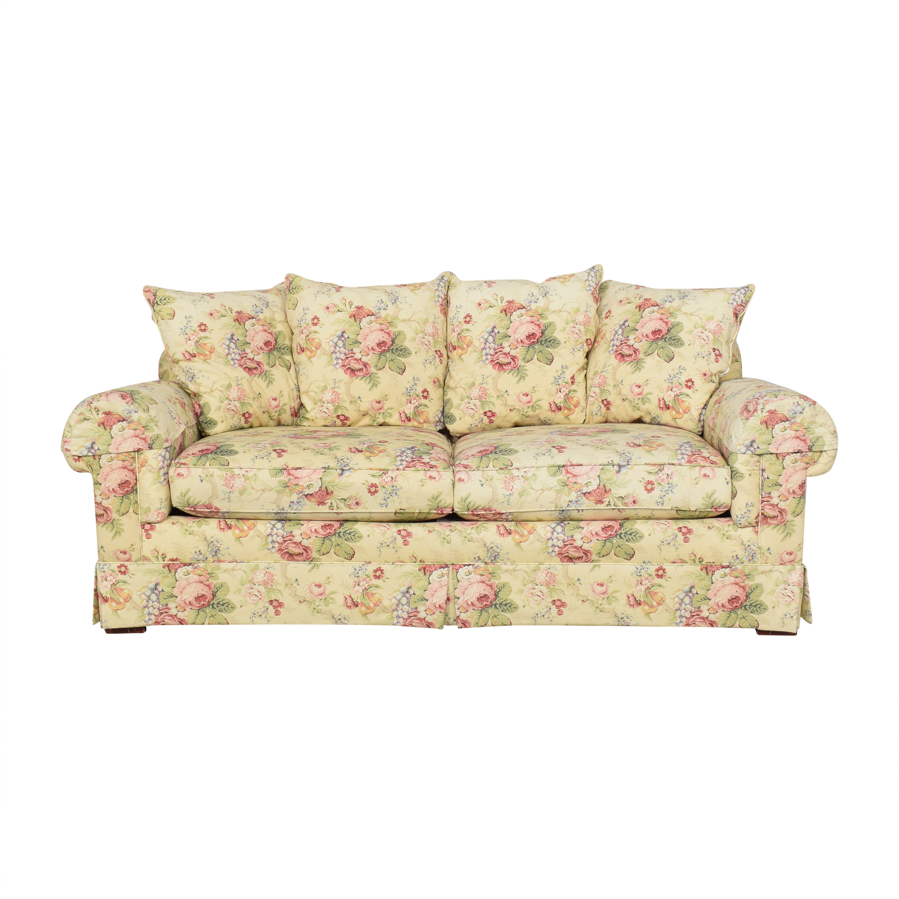 Floral Two Cushion Sofa coupon