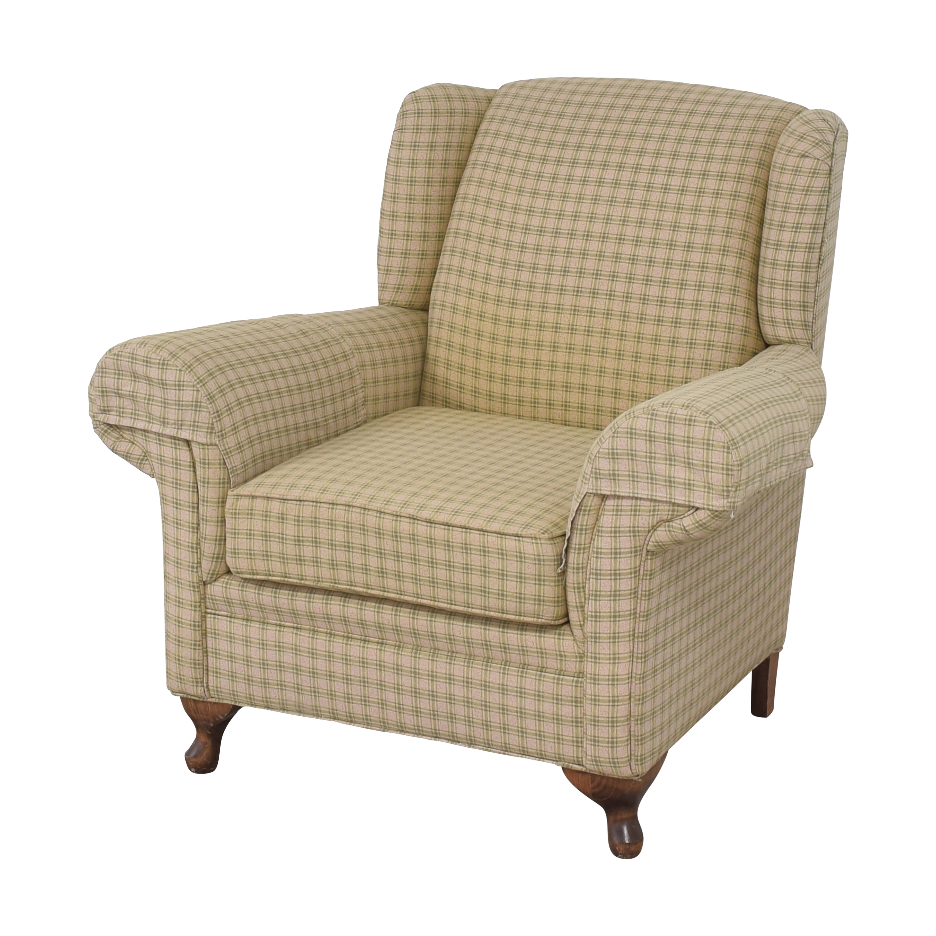 buy  Roll Arm Chair with Ottoman online