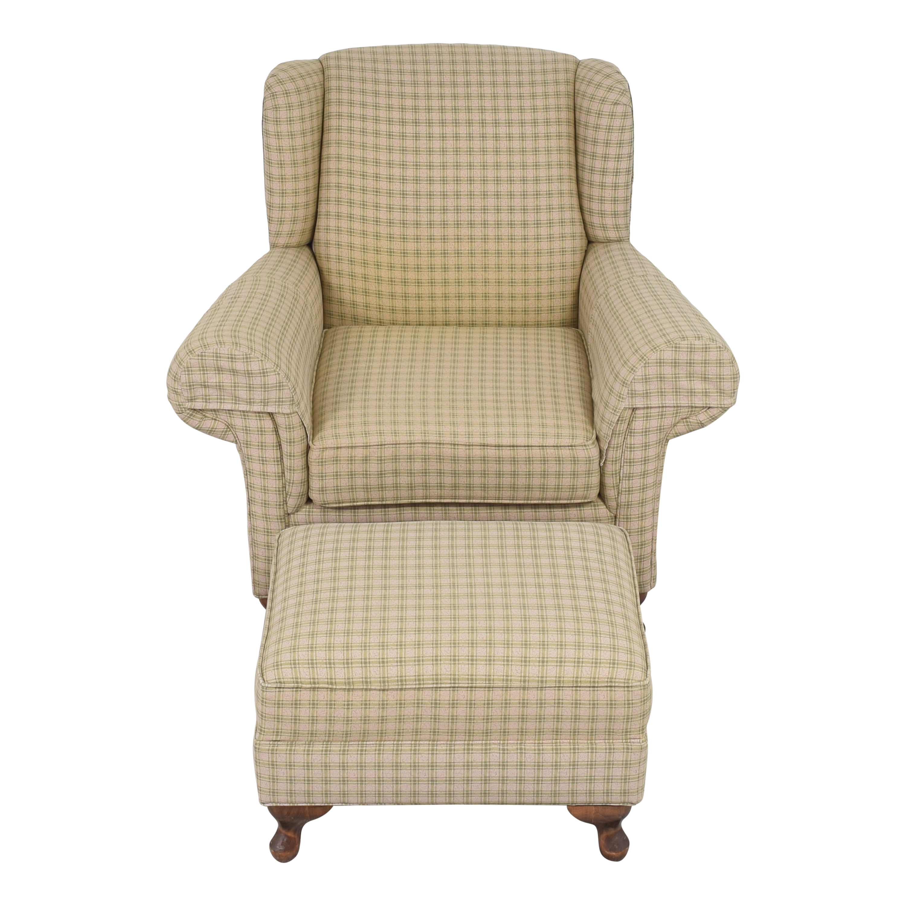 buy Roll Arm Chair with Ottoman  Chairs